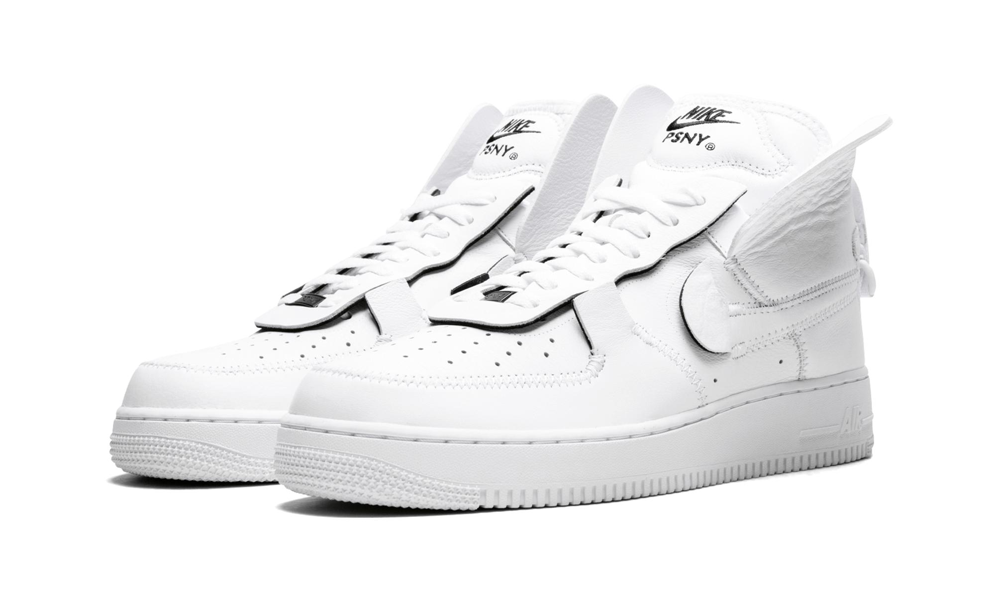 baa8773fb290b7 Nike - White Air Force 1 High Psny - Lyst. View fullscreen