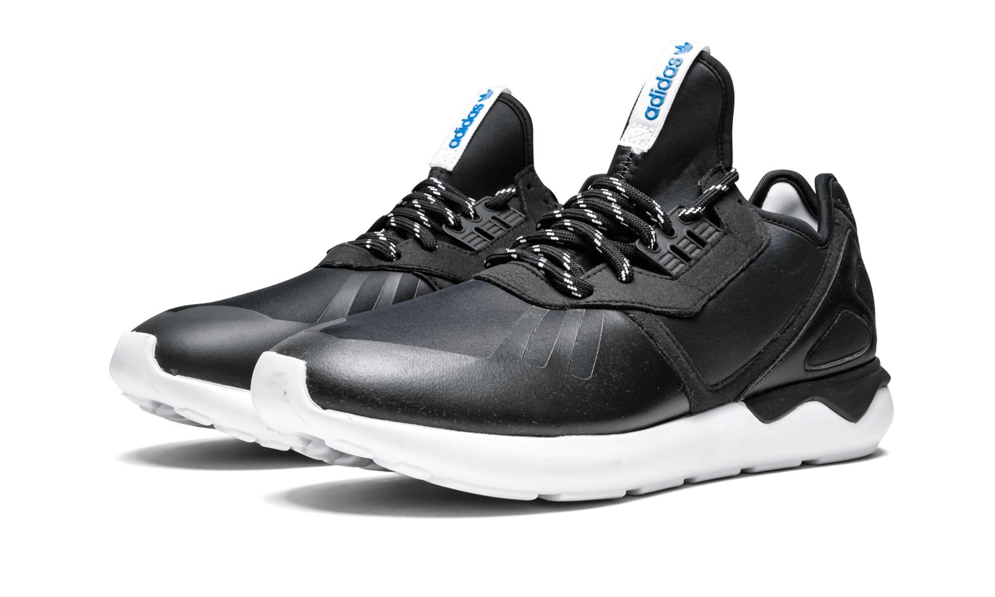 87bbbbffb47b Adidas - Black Tubular Runner for Men - Lyst. View fullscreen