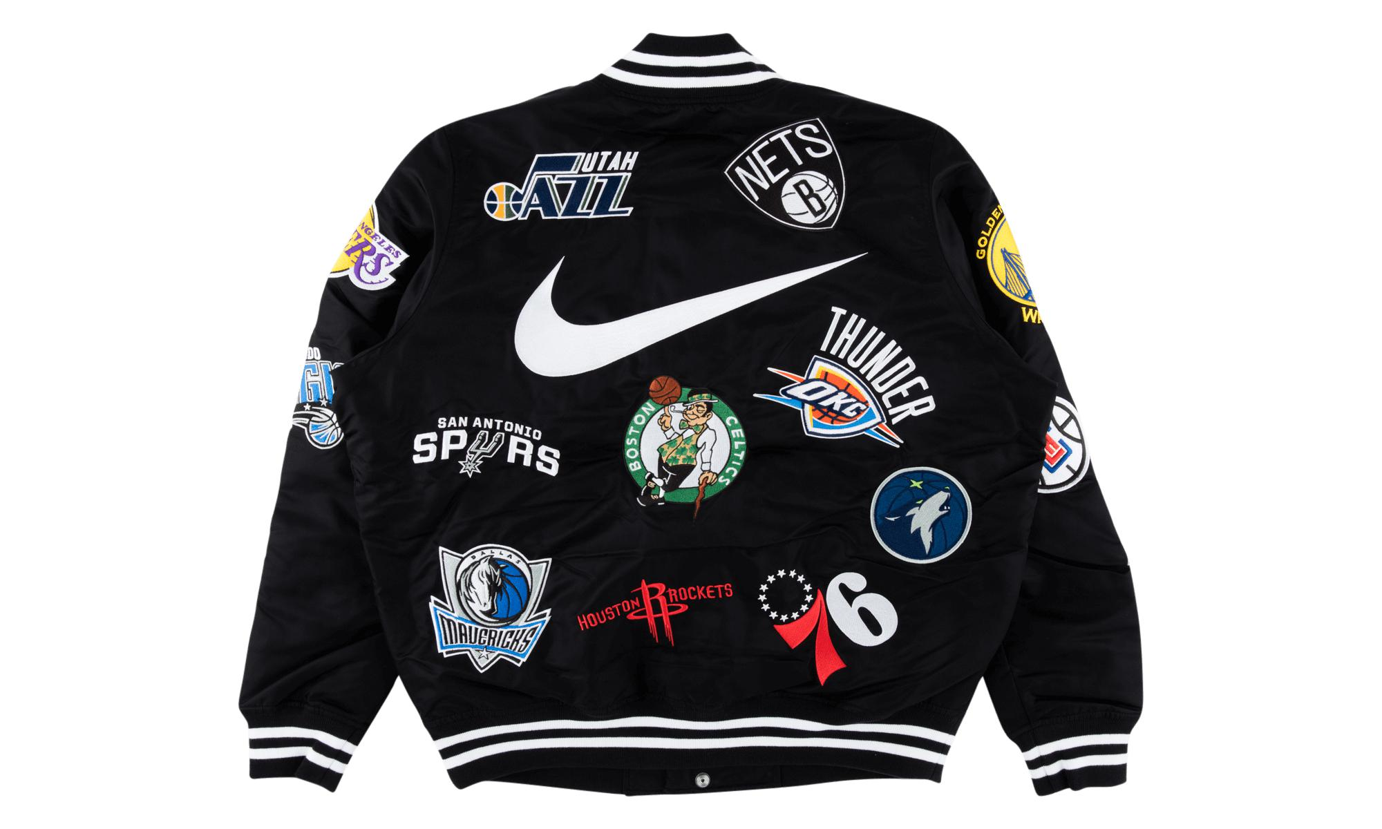 Supreme - Black Nike nba Teams Jacket for Men - Lyst. View fullscreen 59ac436e5