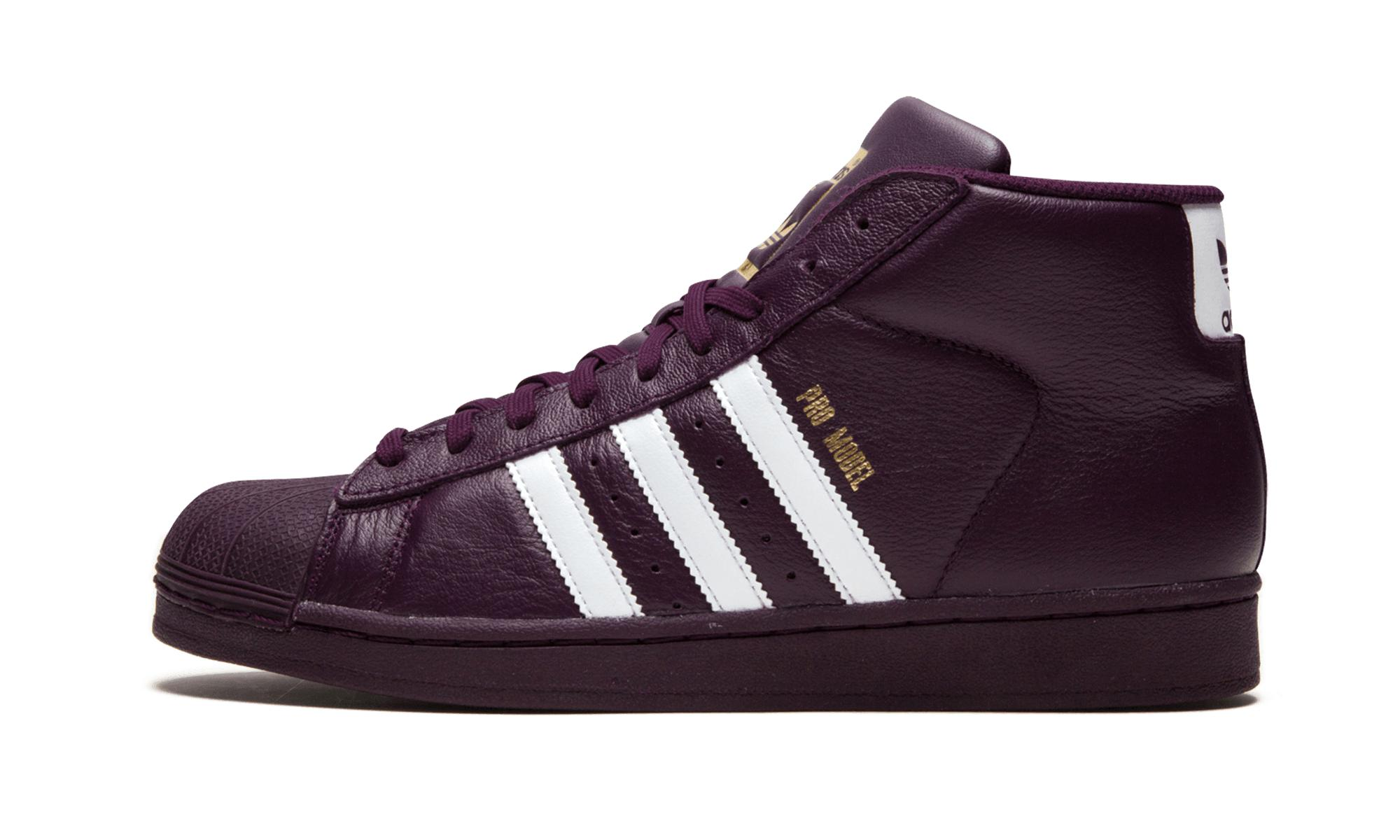adidas Lace Pro Model in Red (Purple