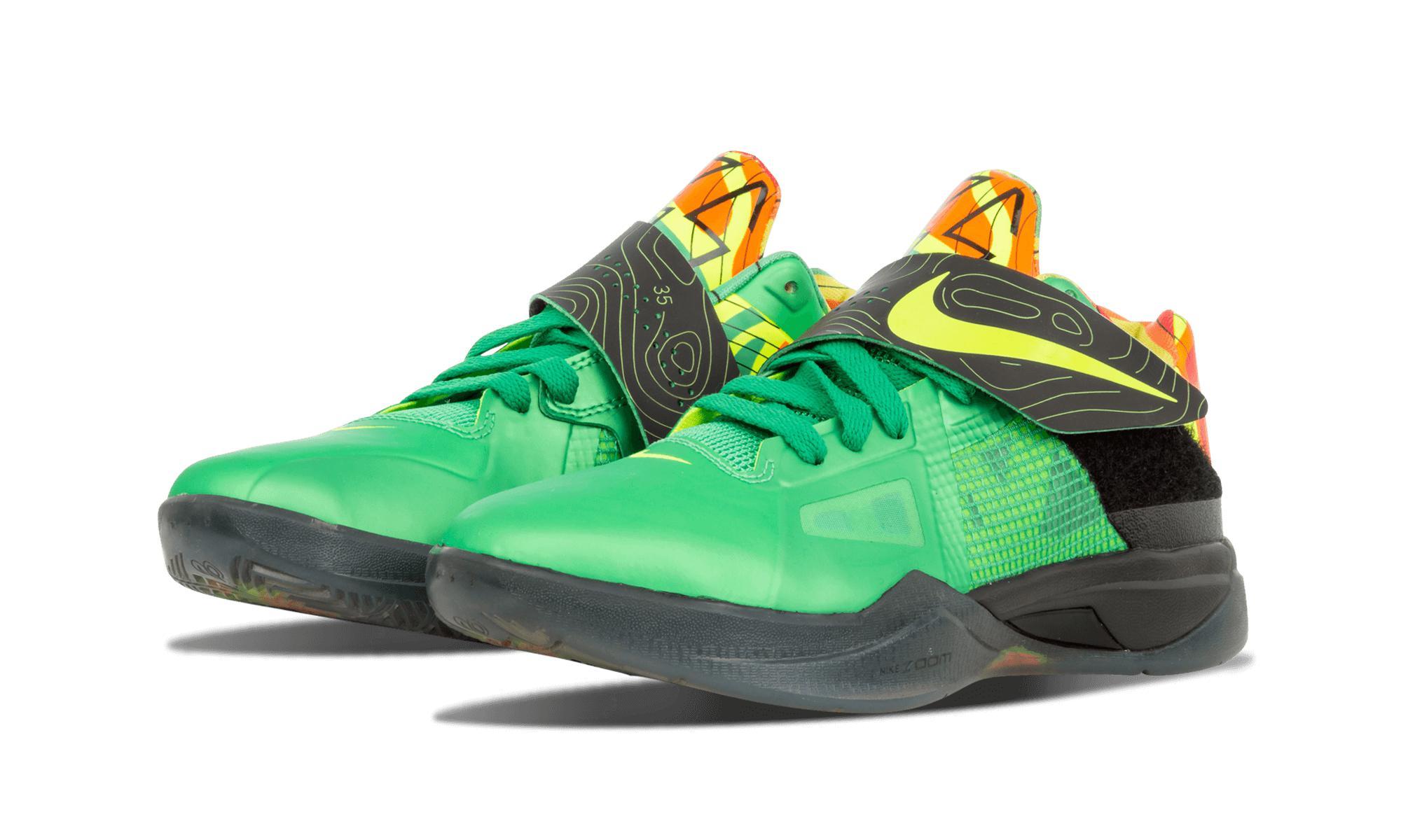 f37a1f91ebe Nike - Green Zoom Kd 4 for Men - Lyst. View fullscreen
