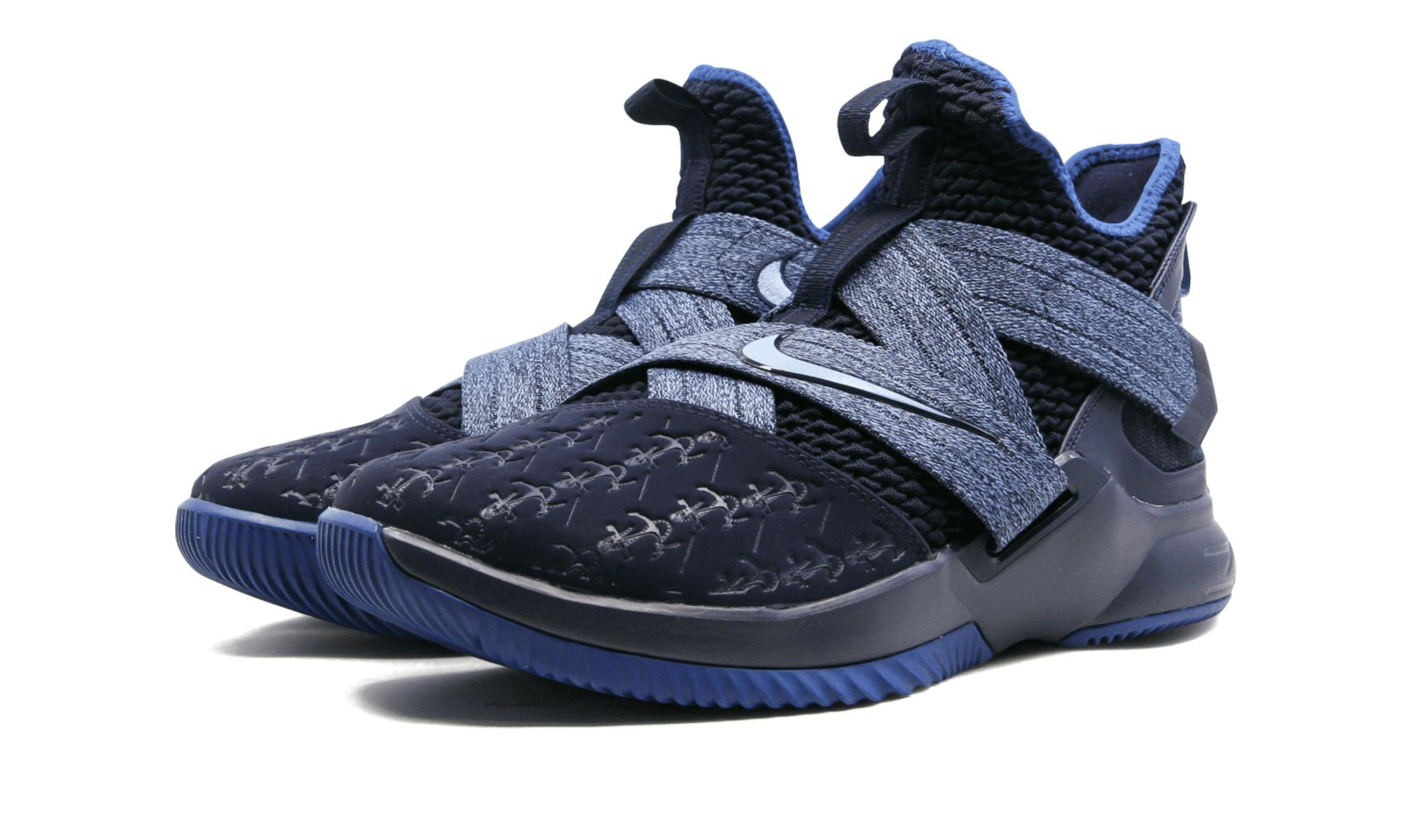 huge selection of 15b27 ff577 Nike Lebron Soldier Xii in Blue for Men - Lyst