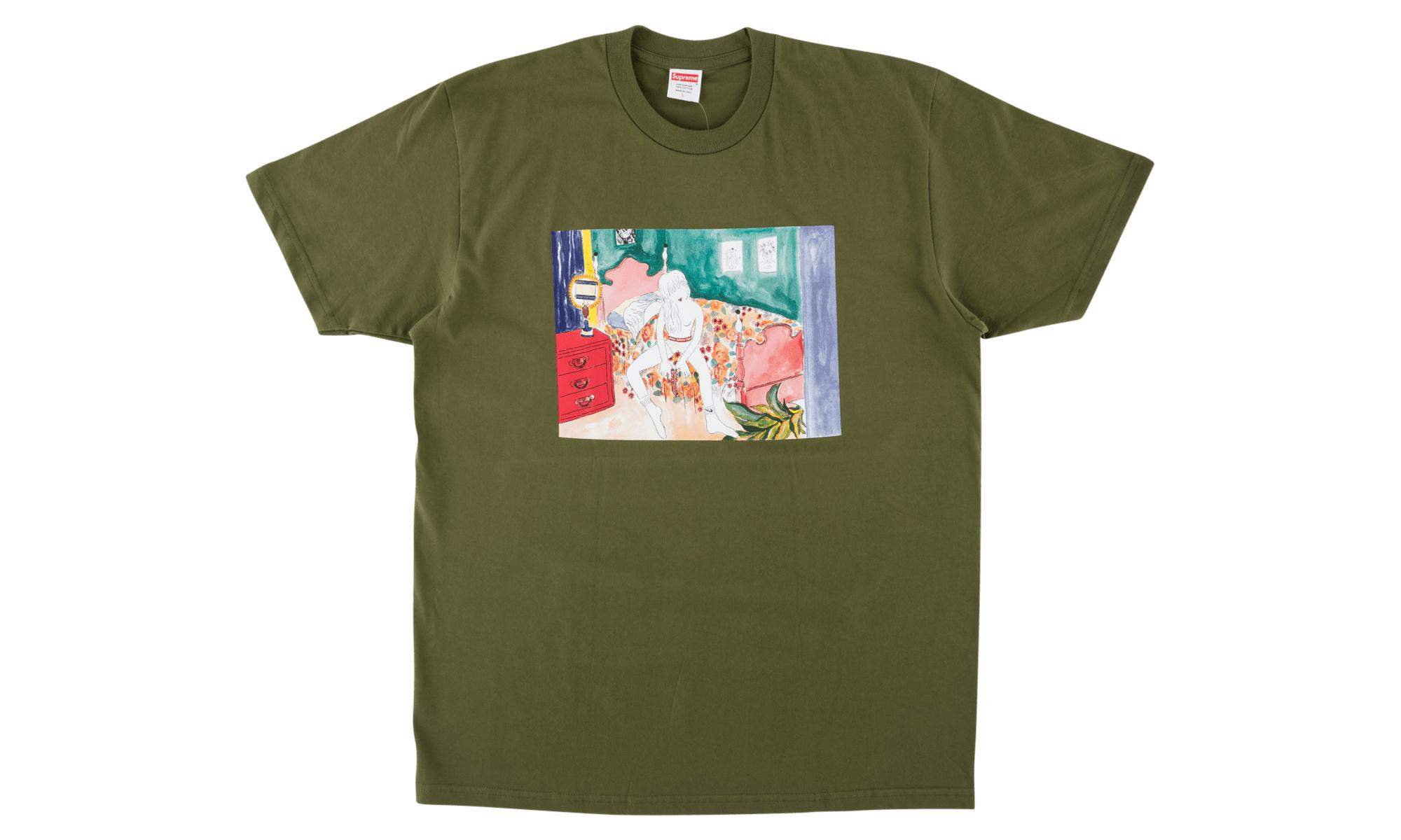 0fd7c3f7 Supreme - Green Madonna T-shirt 'fw18' for Men - Lyst. View fullscreen