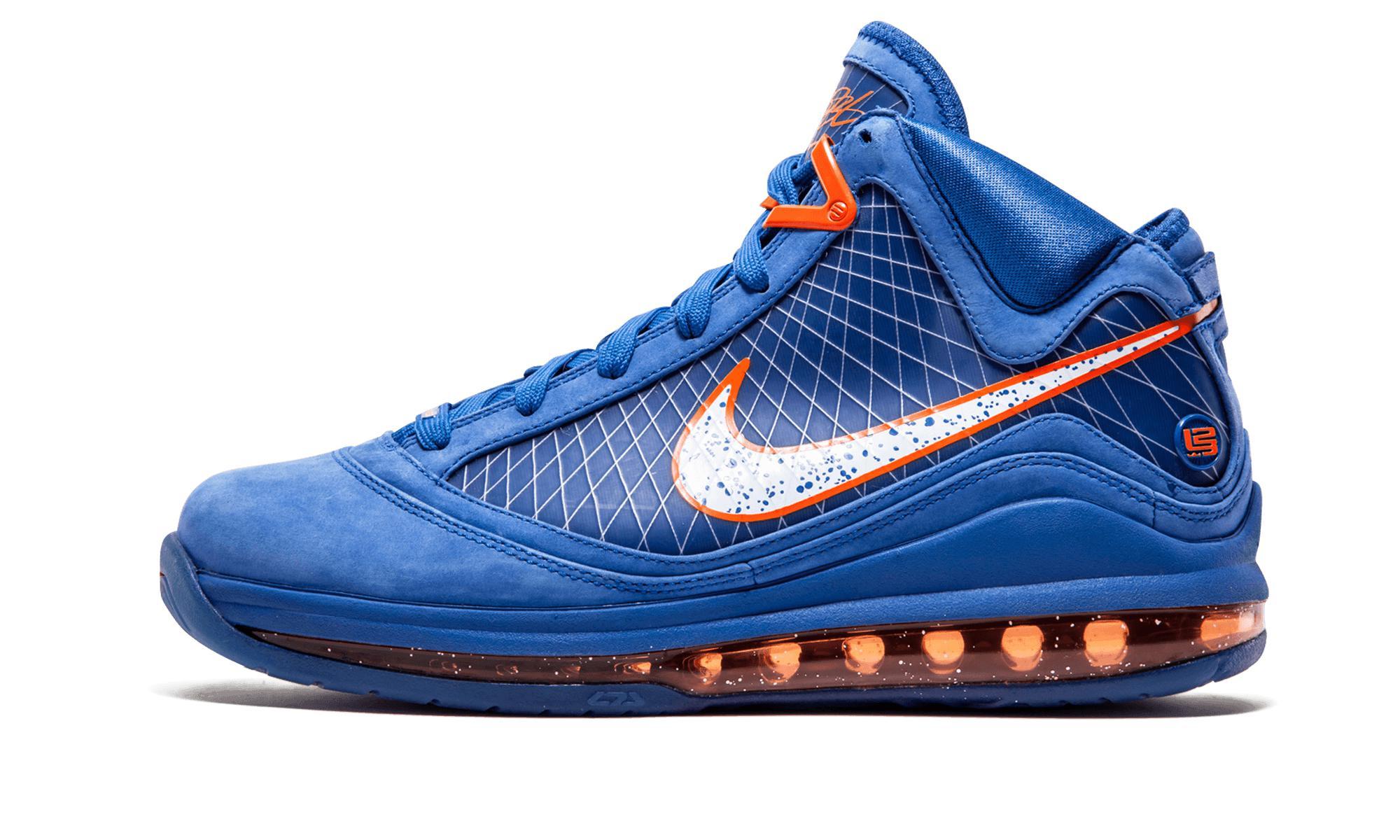 573e3455b96 Lyst - Nike Air Max Lebron 7 in Blue for Men