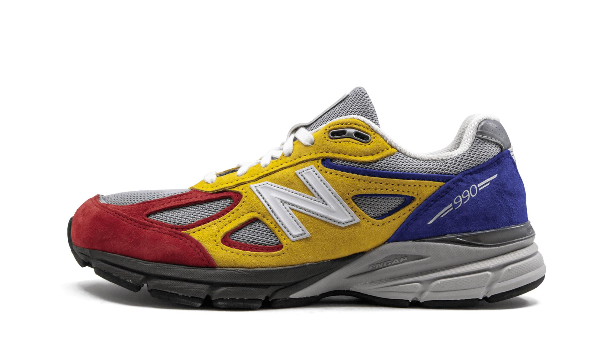 competitive price 82003 e31ab New Balance Multicolor 990