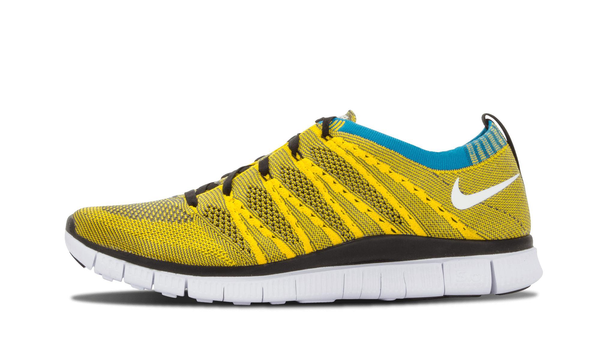 best website 484b8 8f748 Nike. Men s Yellow Free Flyknit Htm Sp