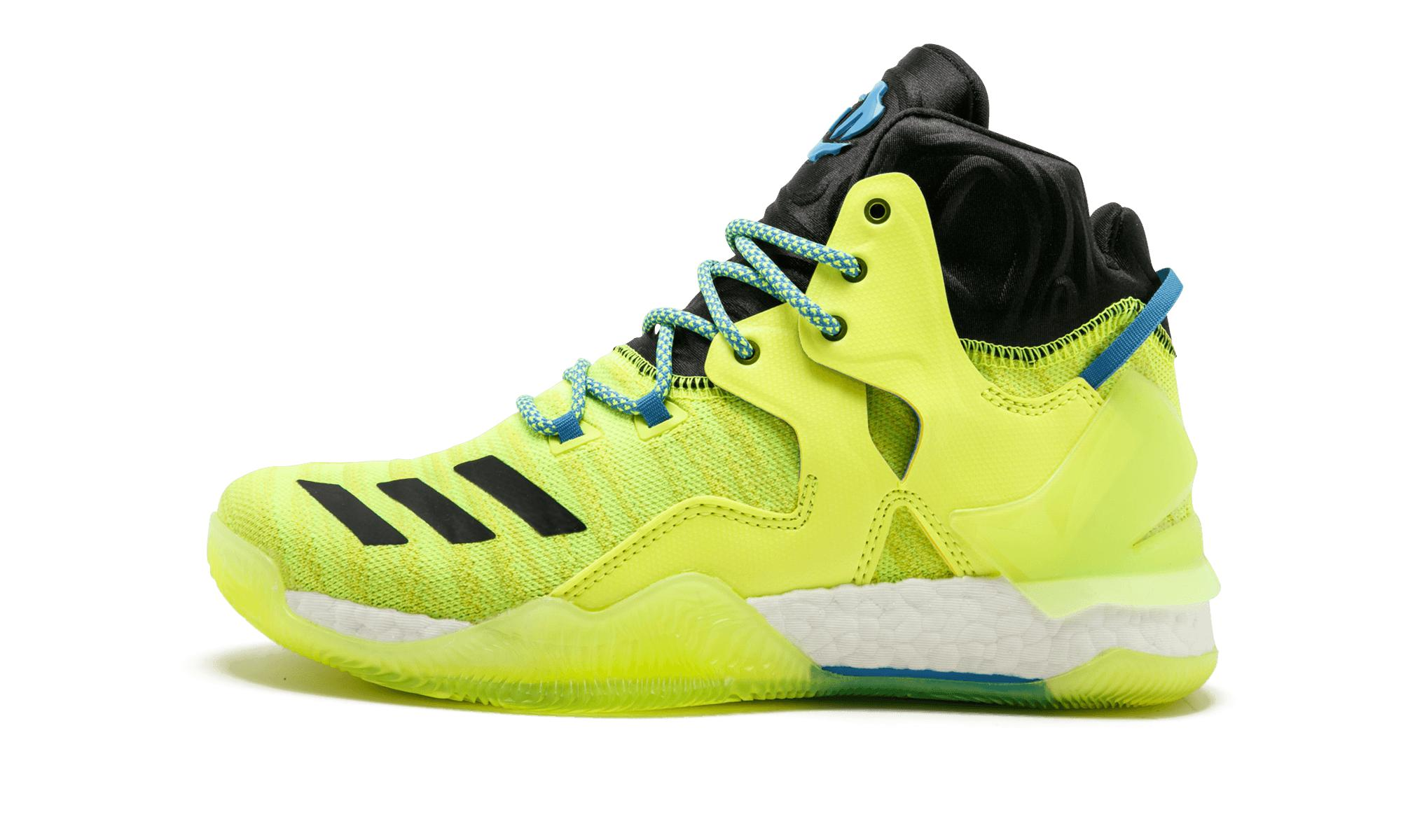 cheap for discount 7379c bfc63 Lyst - adidas D Rose 7 Primeknit in Yellow for Men