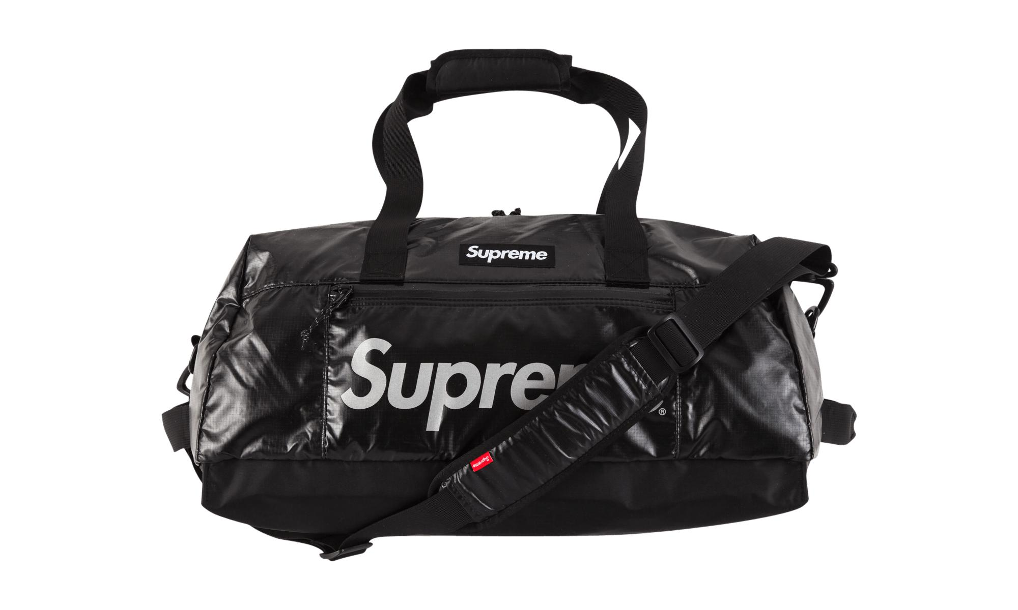4408f0a5a9c5 Supreme Duffle Bag in Black for Men - Lyst