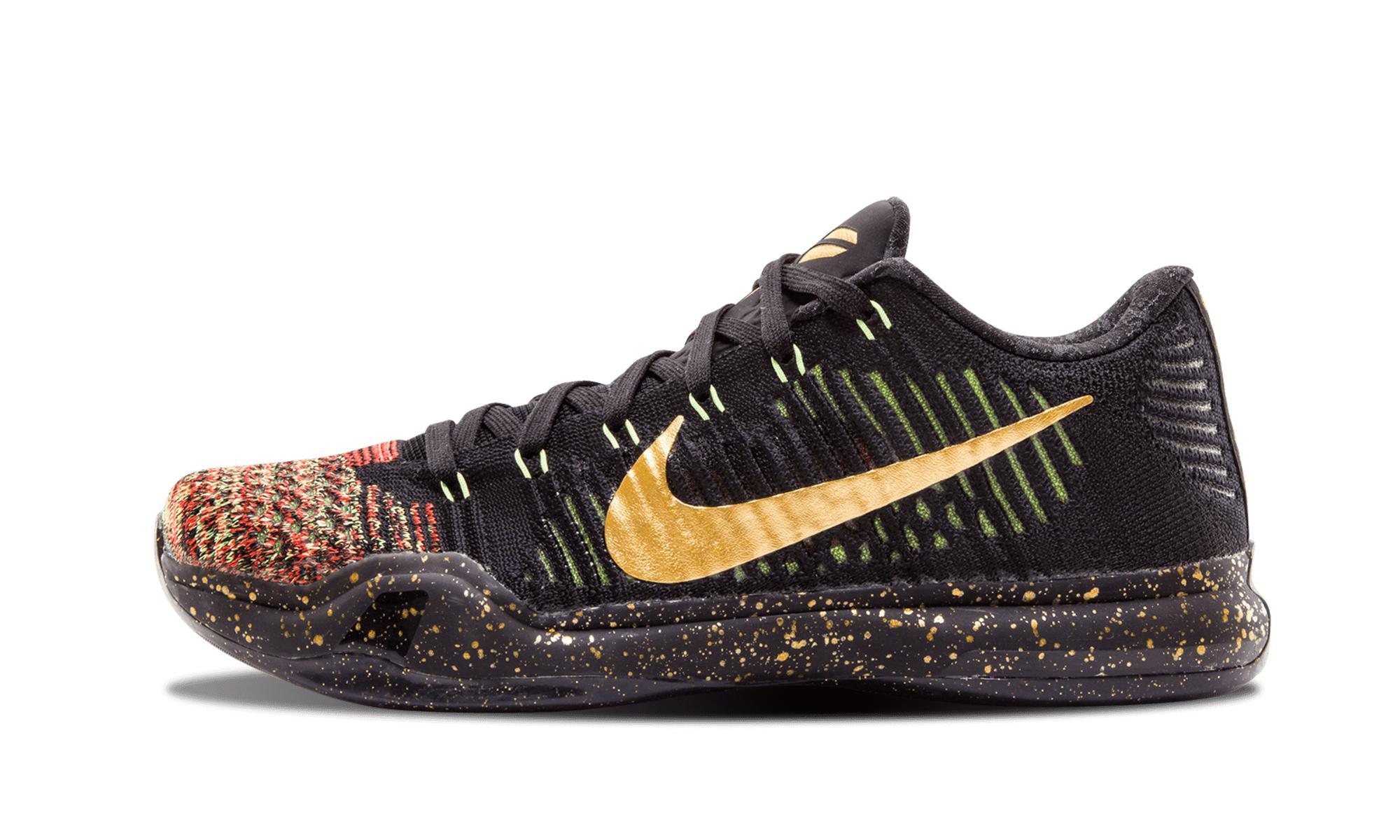 Lyst - Nike Kobe 10 Elite Low Xmas in Black for Men