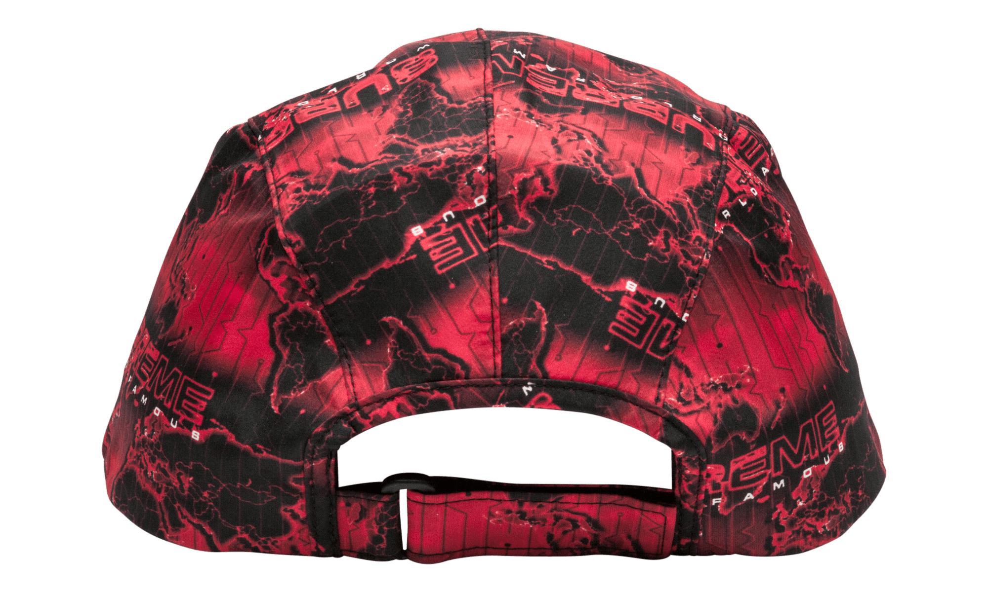 87c327577e8 Supreme - Red World Famous Taped Seam Cap for Men - Lyst. View fullscreen