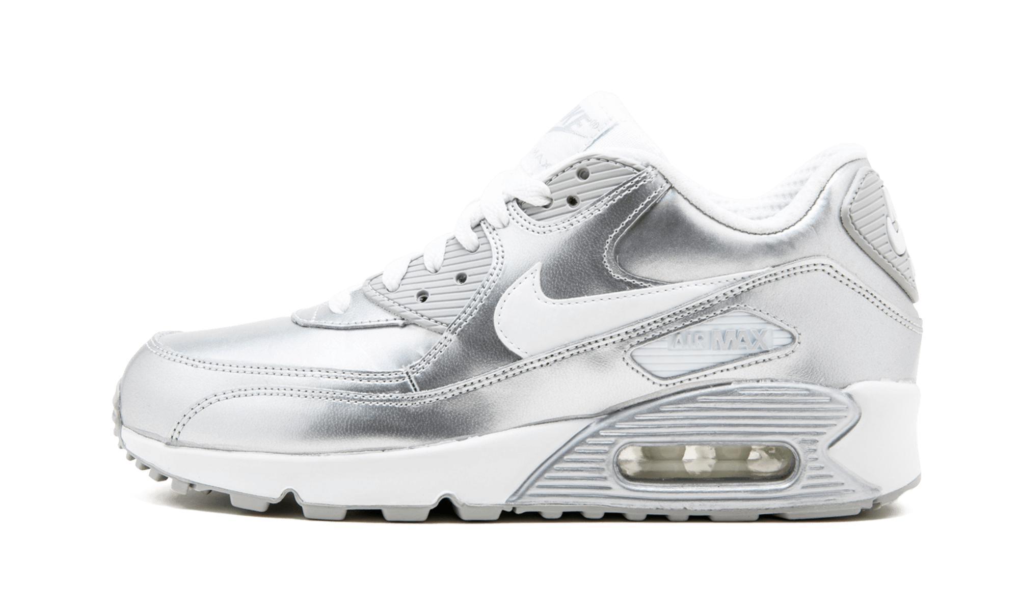 release date: 28a3b afb3f Nike. Women s White Air Air Max 90 ...