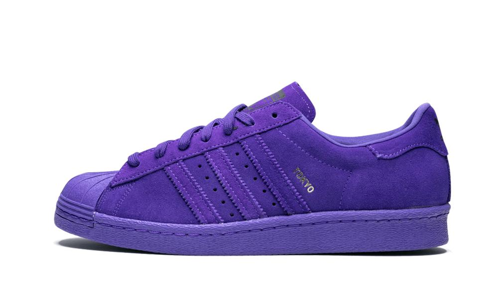 adidas superstar 80s city series purple cheap online