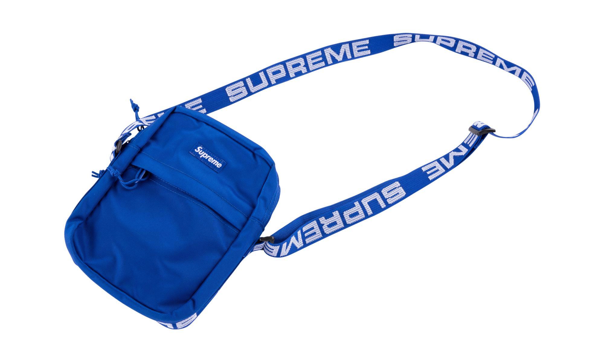 68f035267937 Lyst - Supreme Shoulder Bag in Blue for Men
