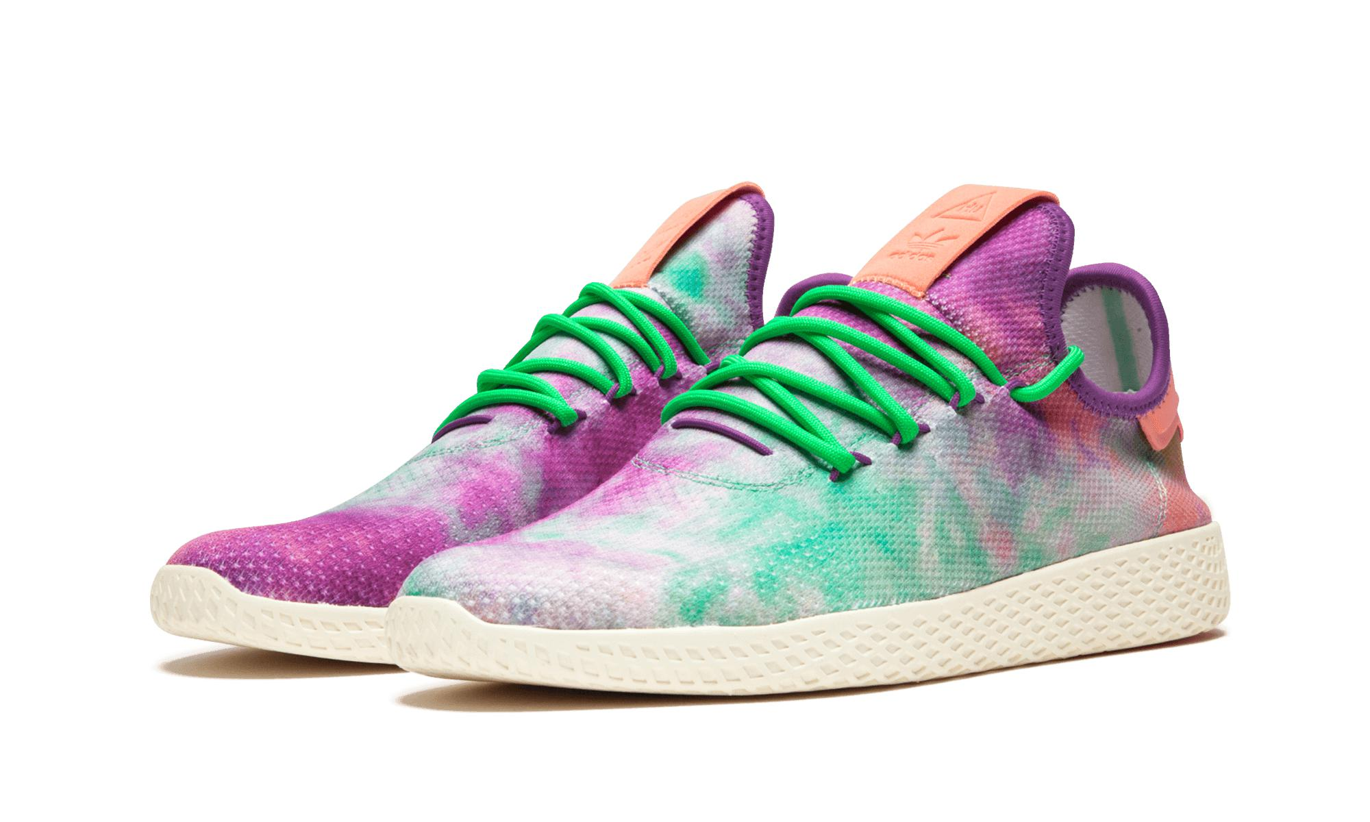 4bd3ce39ab0f9 Adidas - Multicolor Pharrell Williams Hu Holi Tennis Hu Mc for Men - Lyst.  View fullscreen