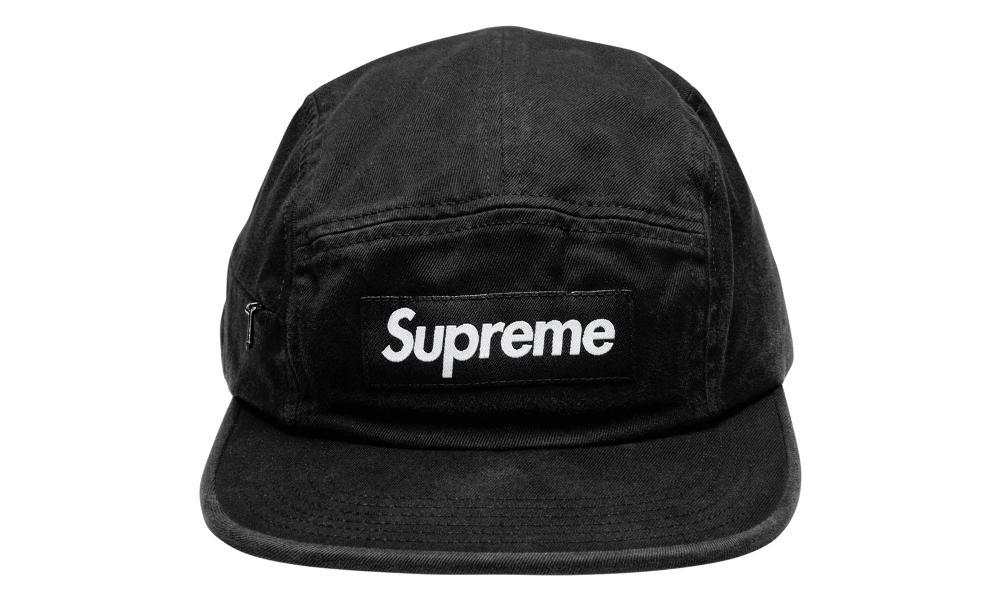 8ba60668 Supreme Side Zip Camp Cap 'fw 17' in Black for Men - Lyst
