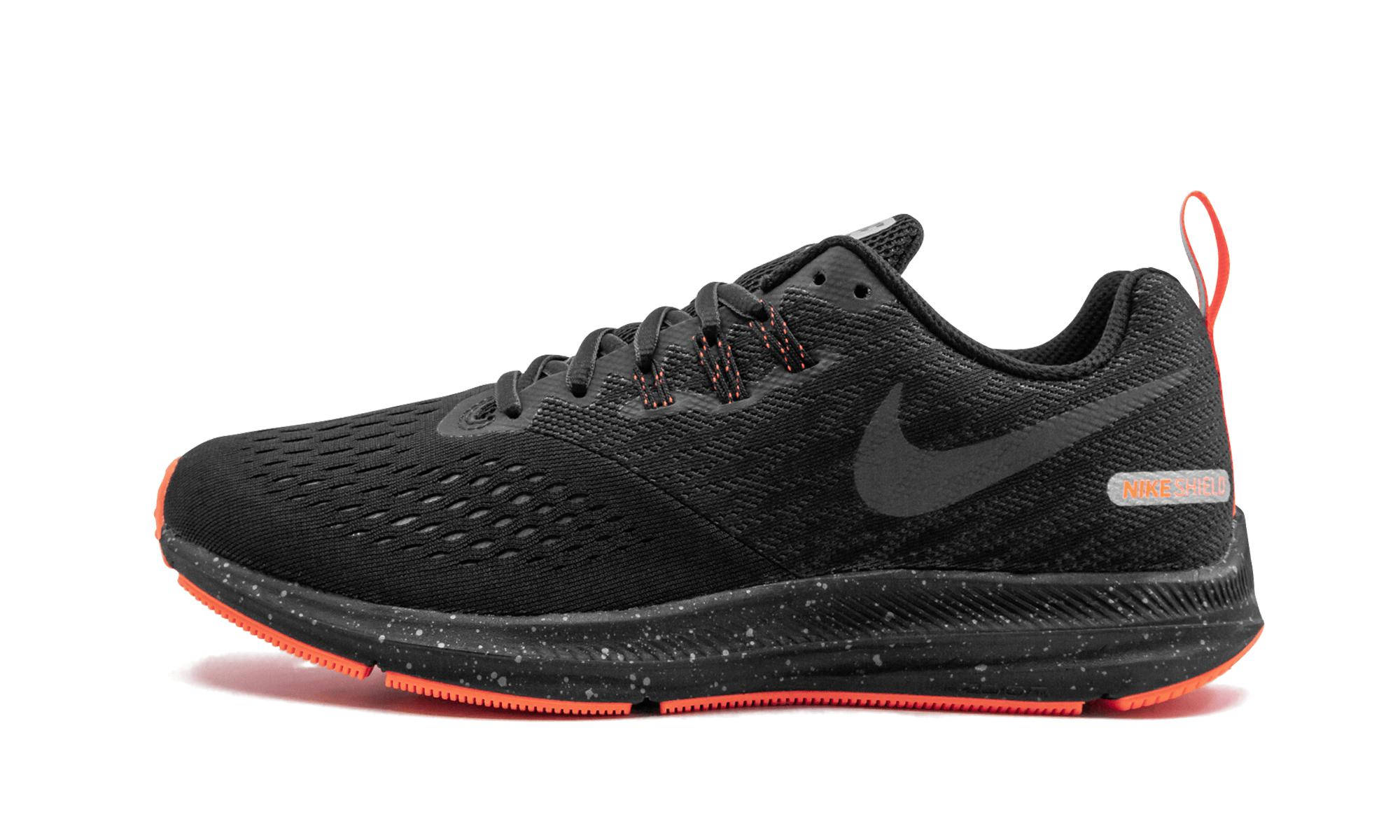 6e2f9c3871c Nike - Black Zoom Winflo 4 Shield for Men - Lyst. View fullscreen