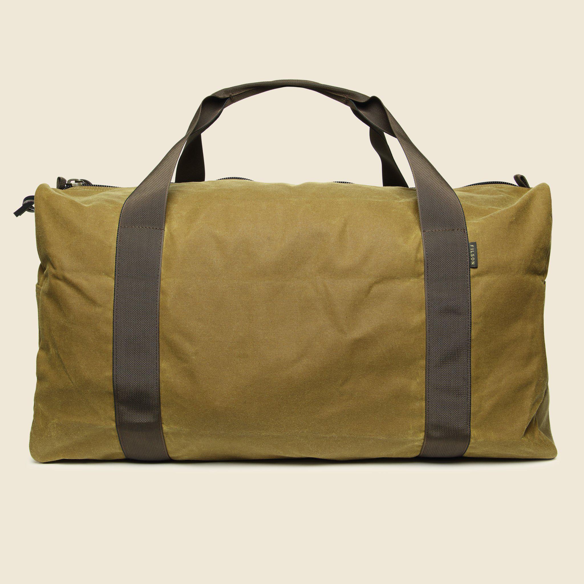 Medium Field Duffle Bag Dark Tan