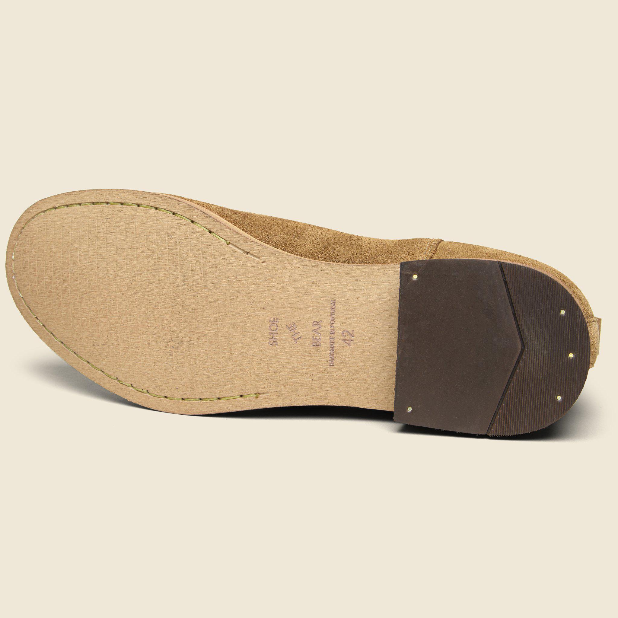 4f29385de071 Lyst - Shoe The Bear Dev Suede Chelsea Boot - Light Brown in Brown ...