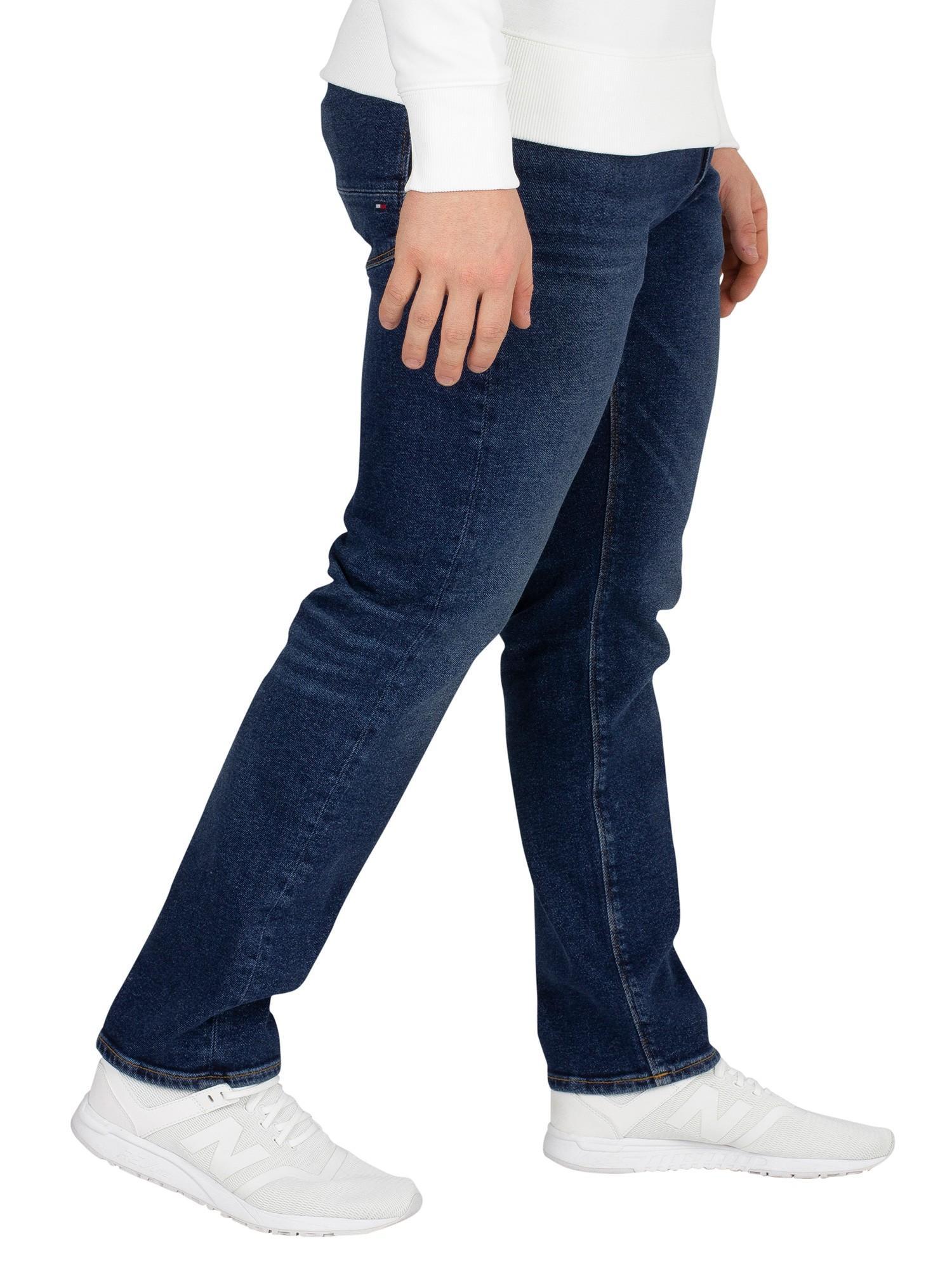 Ammon Blue Tommy Hilfiger Denton Straight Fit Jeans