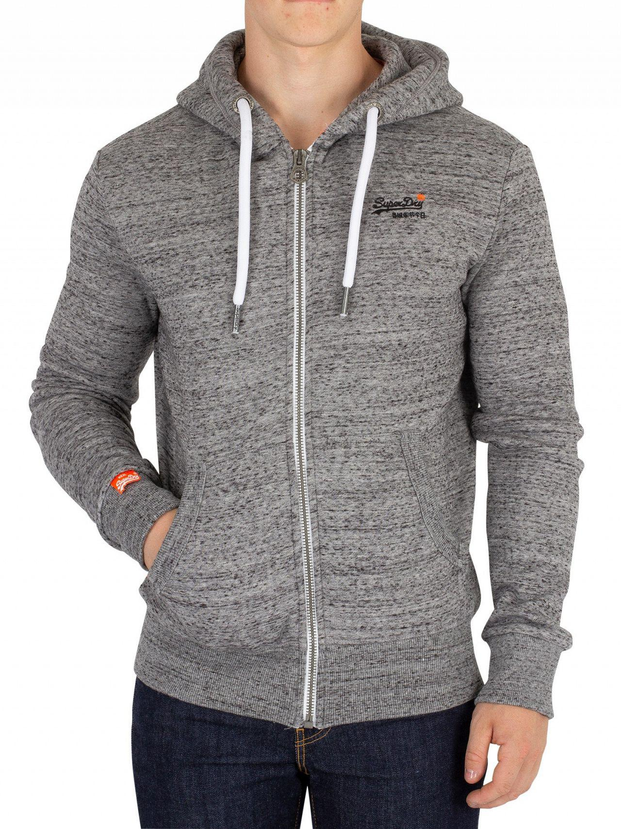 41dafde5 New Mens Superdry Vintage Authentic Fade Hoodie Silver Marl Clothes, Shoes  & Accessories Men's Clothing