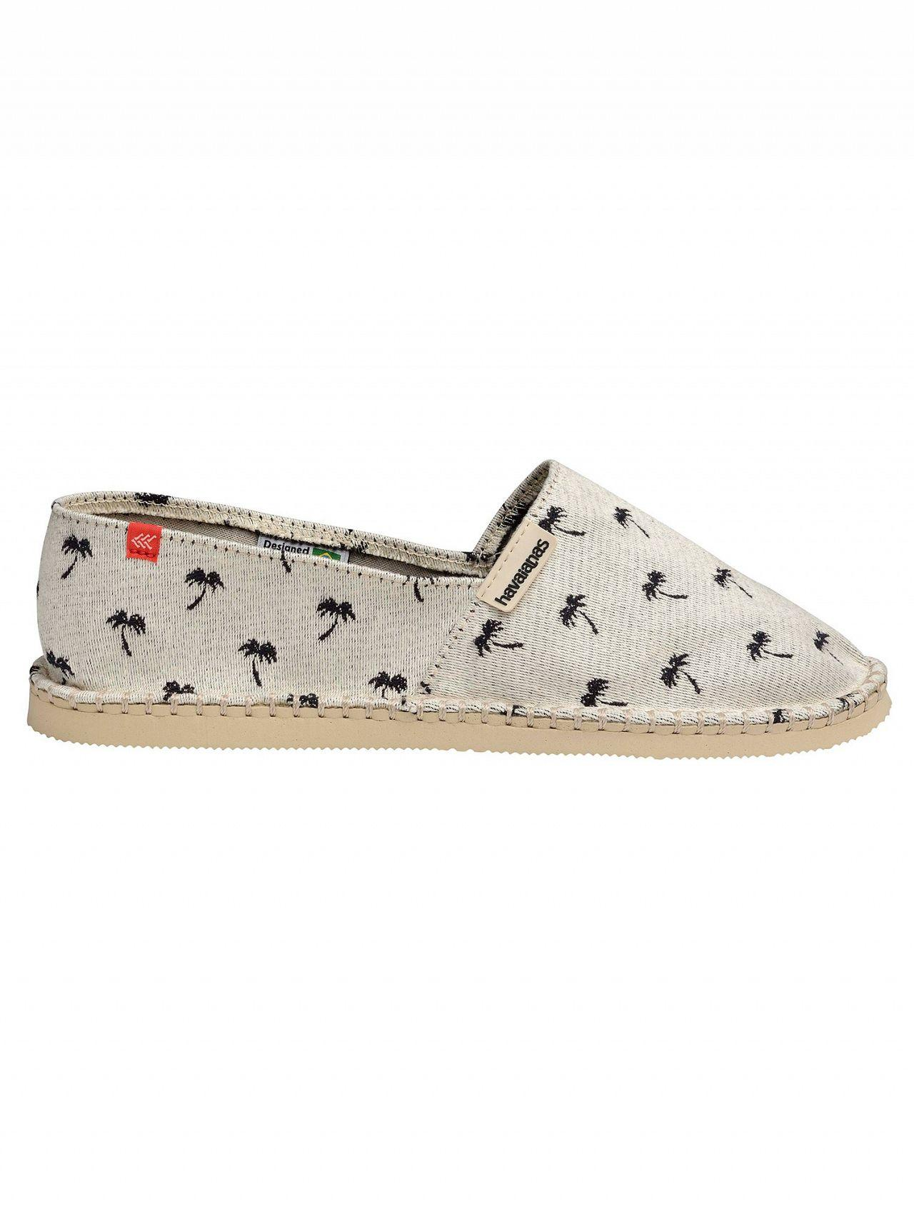 977a131b2 Havaianas Beige Palm Tree Espadrilles in Natural for Men - Lyst