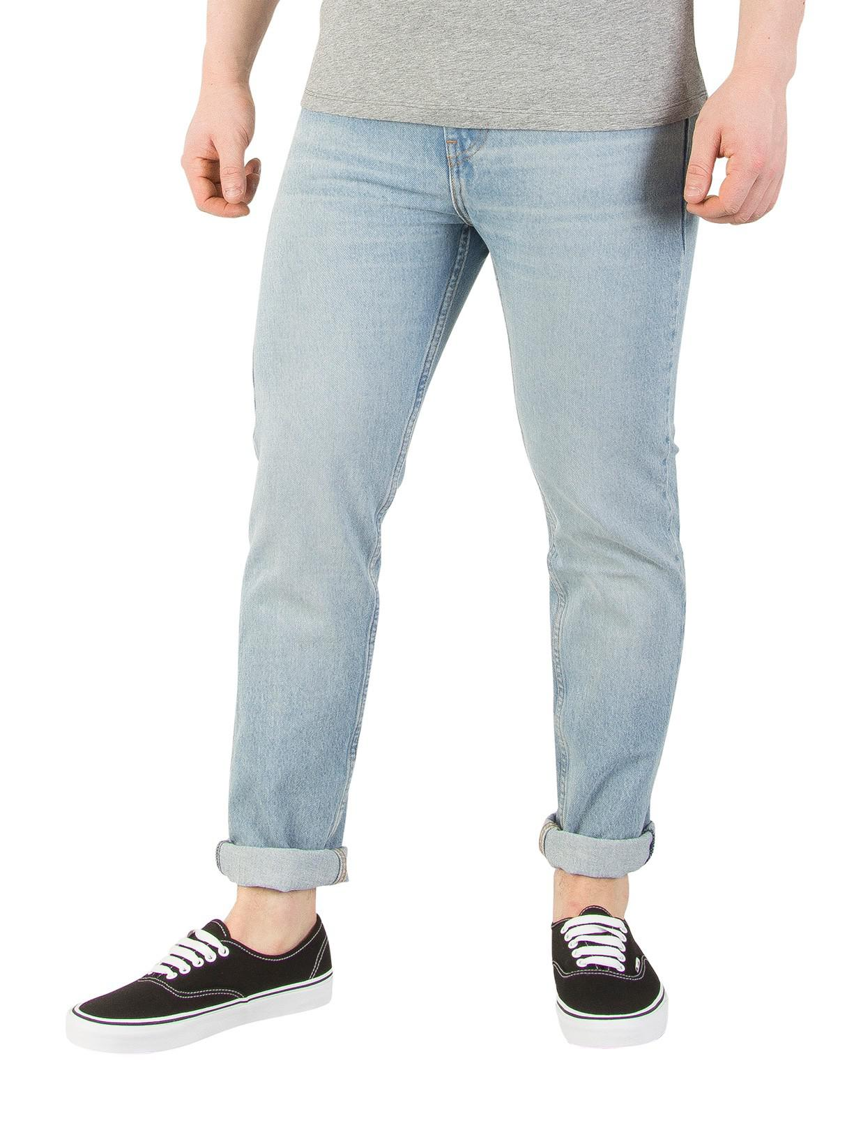 8a8f9421835 Levi's Gingham Warp 510 Skinny Fit Jeans in Blue for Men - Lyst