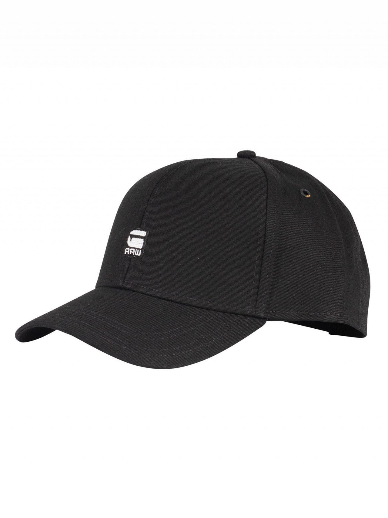 G-Star RAW Dark Black Originals Baseball Cap in Black for Men - Save ... 70699e012db9
