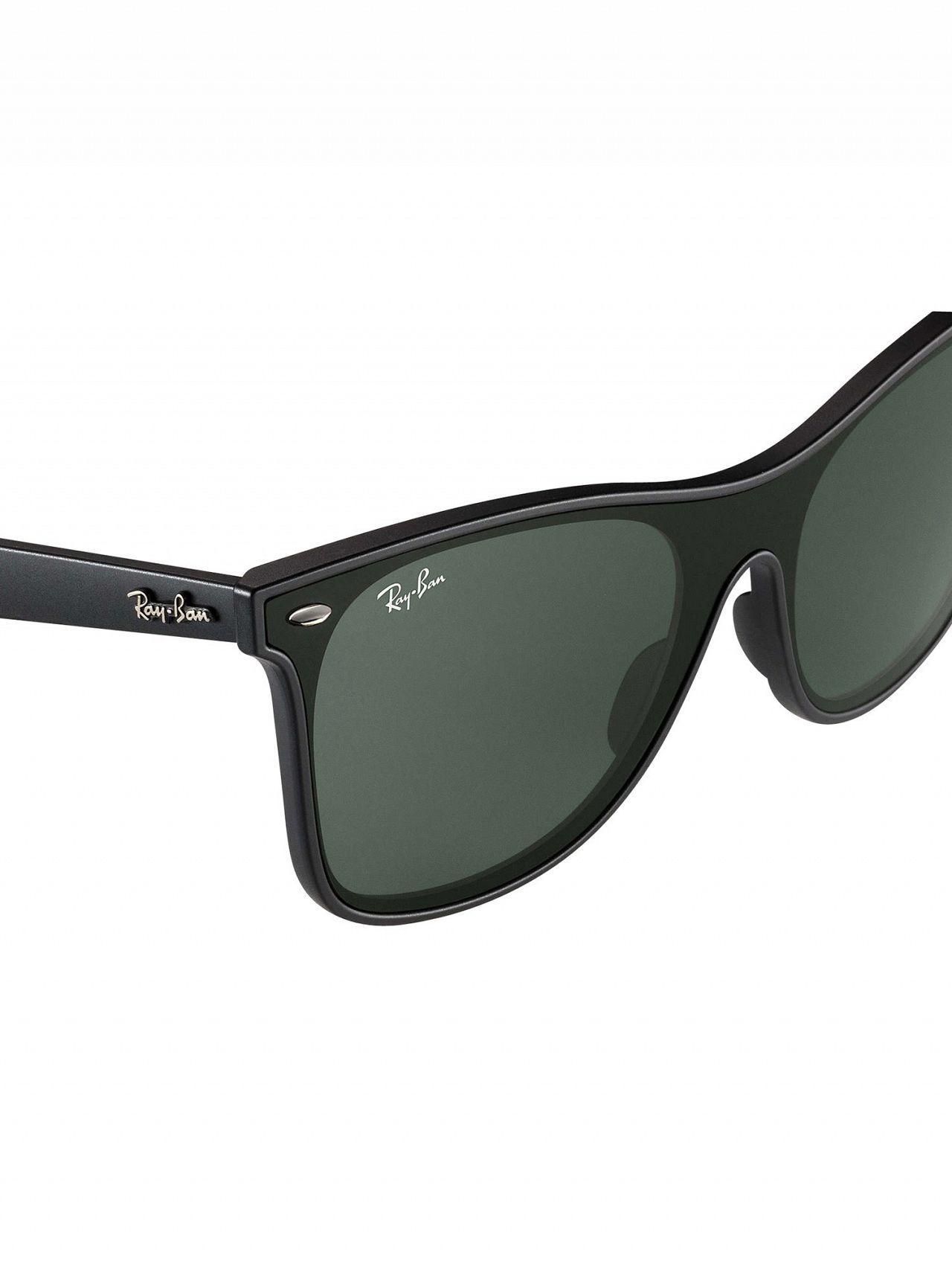 47aca2d630 Ray-Ban - Black Rb4440n Blaze Wayfarer Sunglasses for Men - Lyst. View  fullscreen