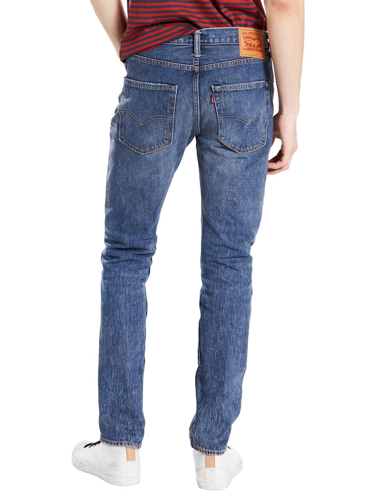 Levi's Denim Saint Mark 501 Skinny Jeans in Blue for Men