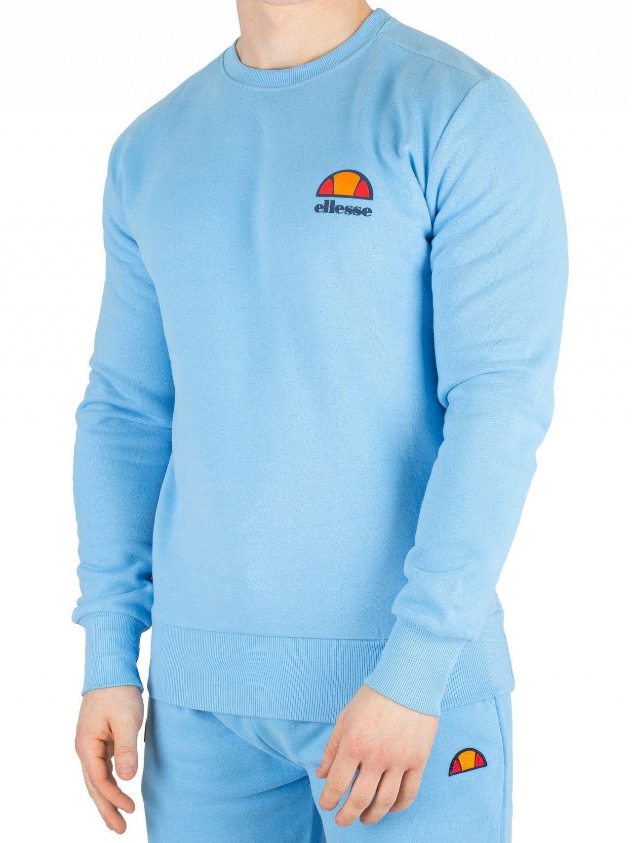 27f068d894 Lyst - Ellesse Light Blue Diveria Sweatshirt in Blue for Men