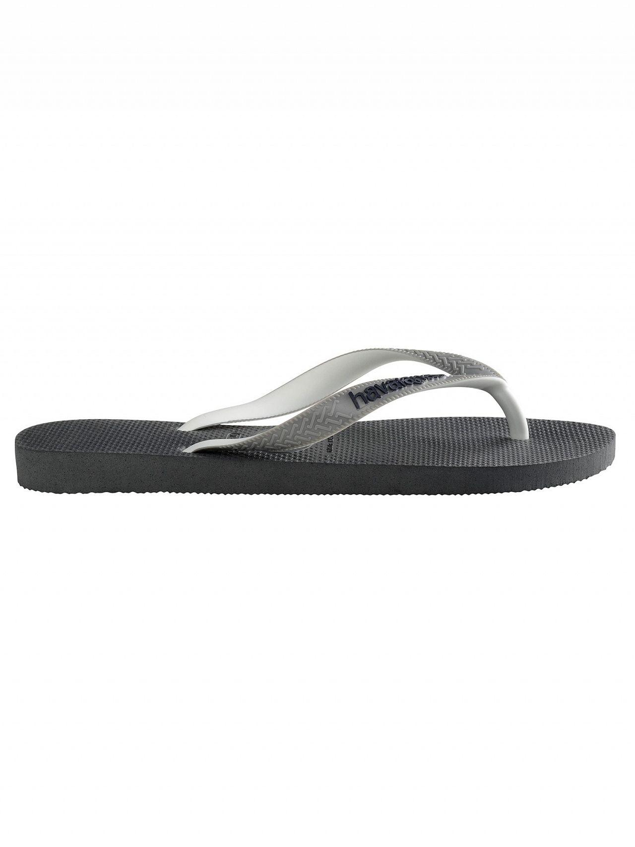 a25e19a9c Havaianas Graphite Grey Top Mix Flip Flops in Gray for Men - Lyst