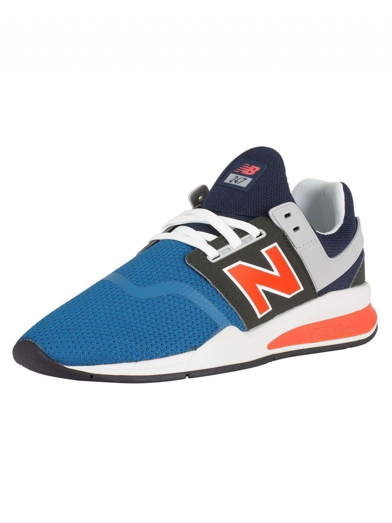 new balance 247 light blue