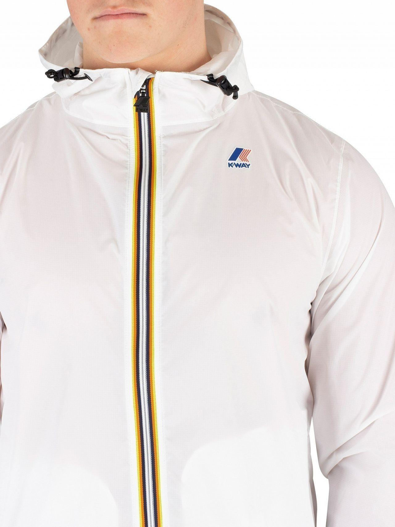 K-Way Synthetic Claude Le Vrai 3.0 Pac-a-mac Jacket in White for Men