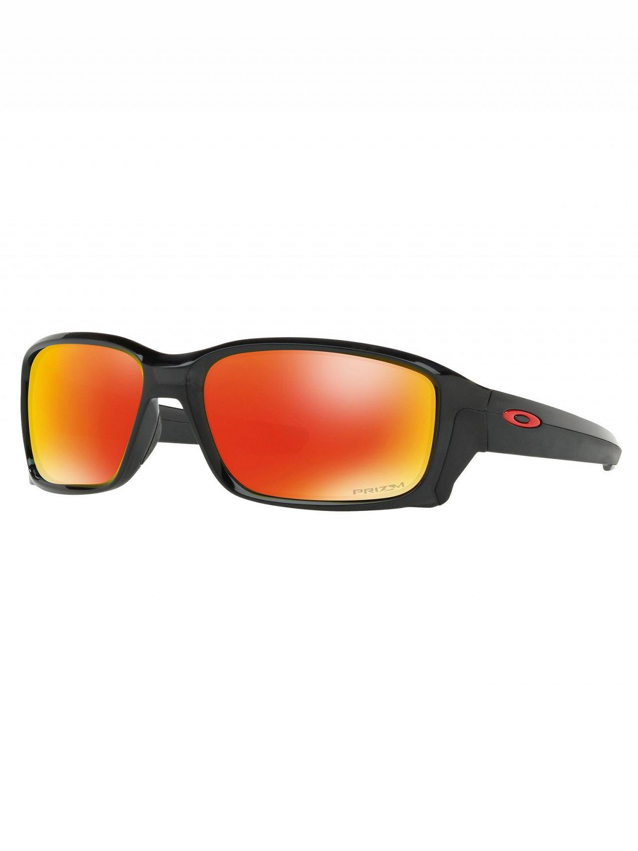 Oakley Straightlink Sonnenbrille Black Ink/Prizm Ruby c71PQfIvm