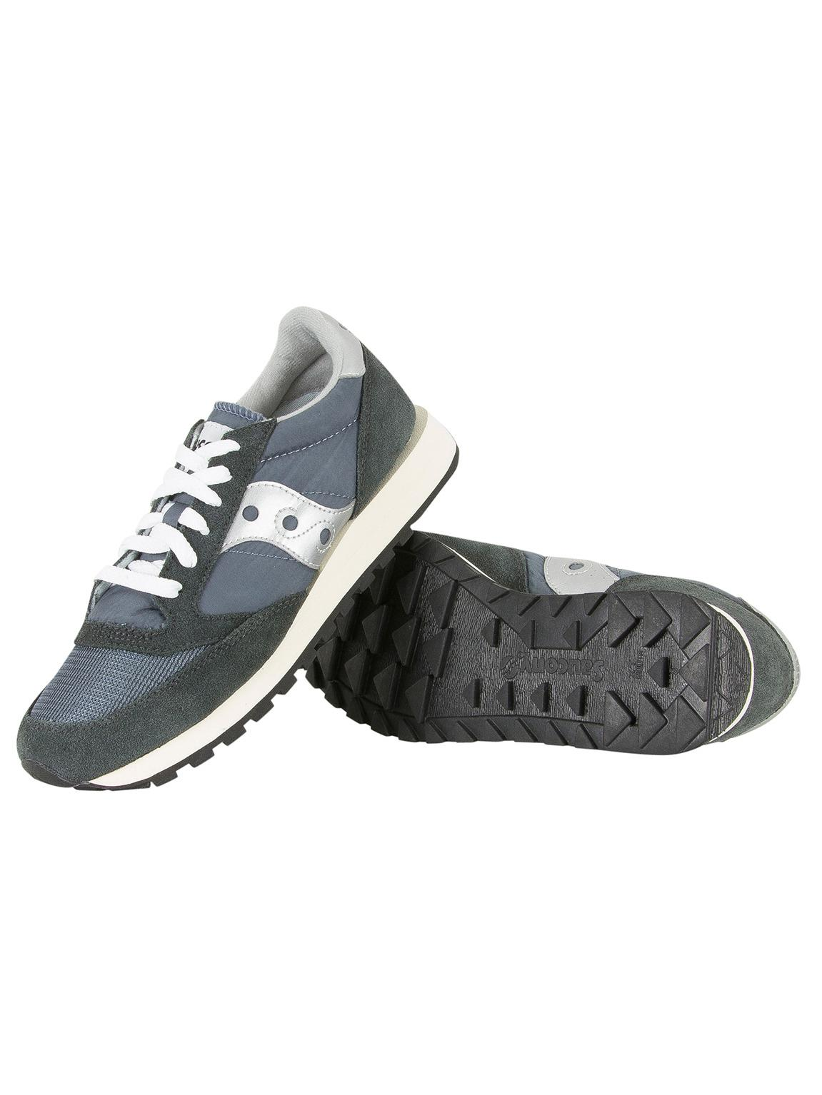 8204509d8bc7 Lyst - Saucony Blue navy silver Jazz Original Vintage Trainers in Blue for  Men