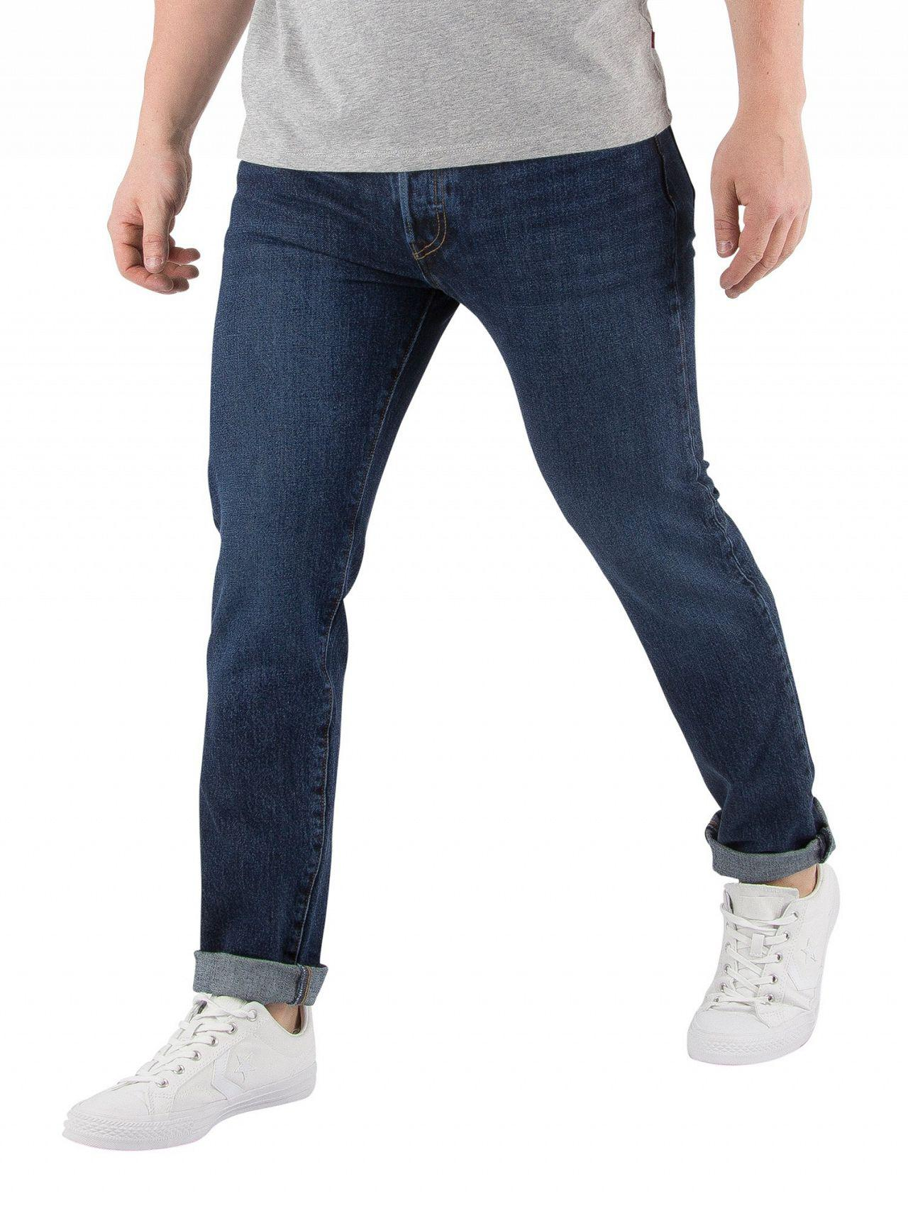 a2574c4d6fb Levi's - Blue Warp 501 Skinny Luther Jeans for Men - Lyst. View fullscreen