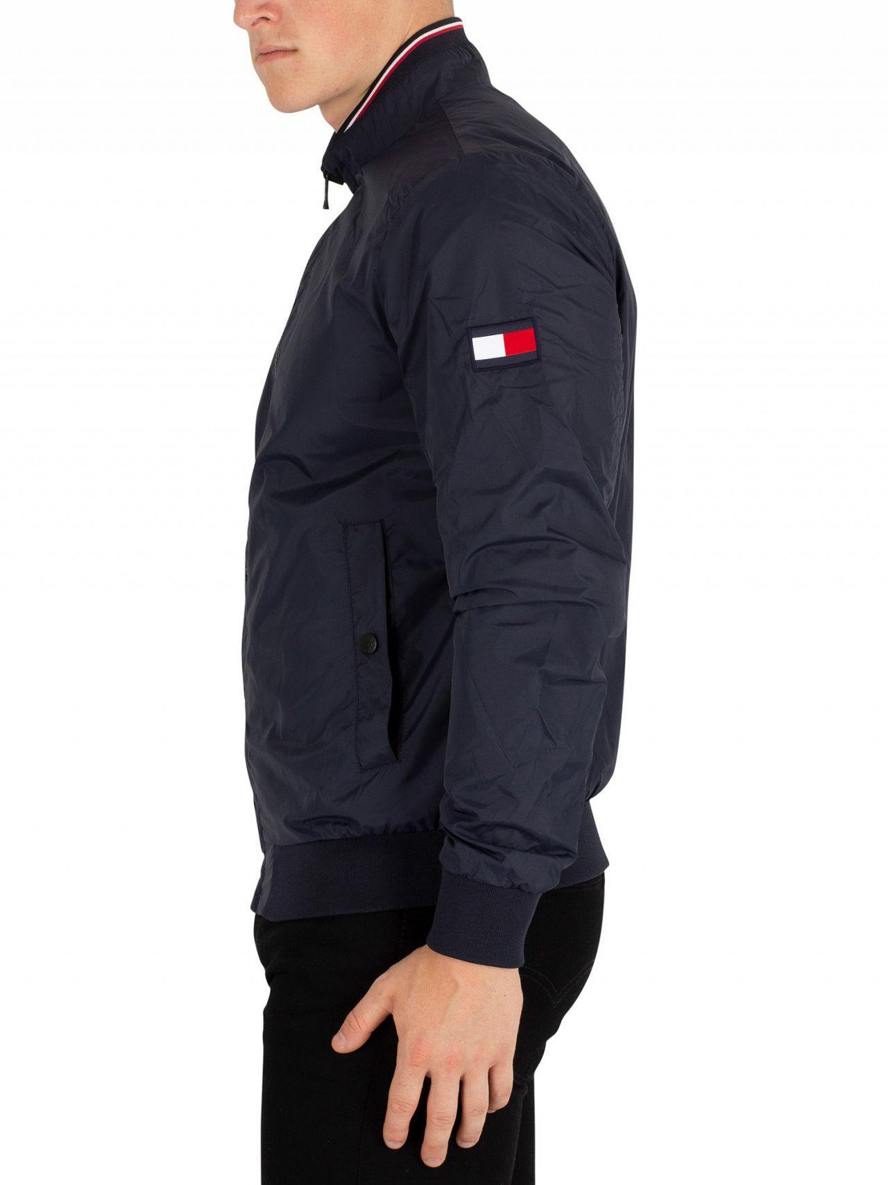 e54b6ea33 Tommy Hilfiger Blue Sky Captain Reversible Bomber Jacket for men