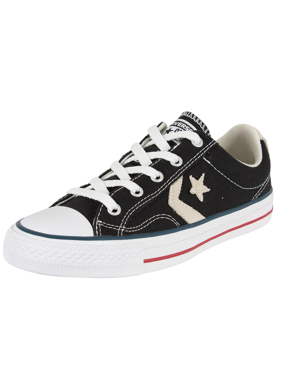 4fb5513f7a2 Converse Black milk Star Player Ox Trainers in Black for Men - Lyst