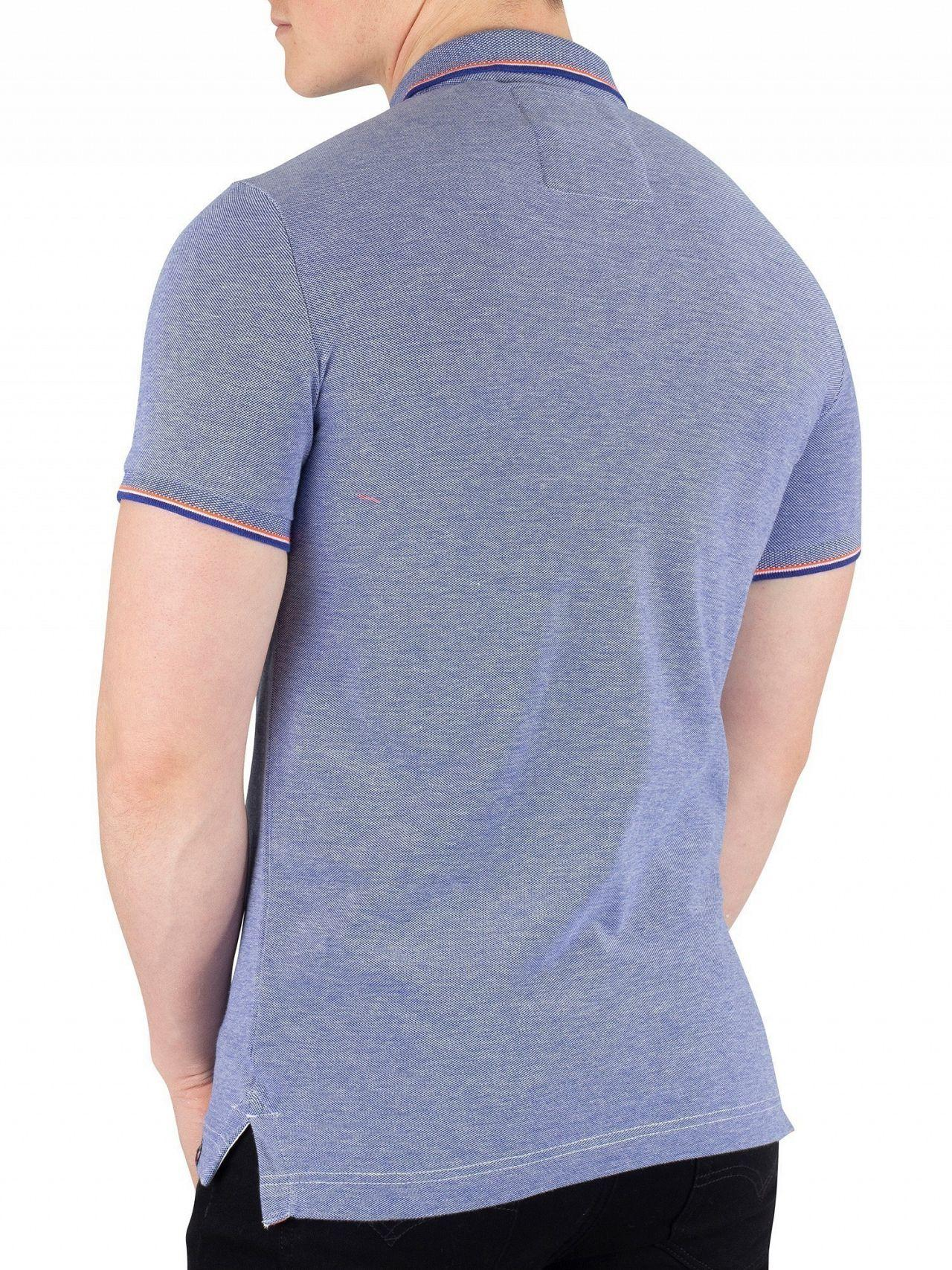 4f0931c46879 ... Cobalt/white Classic Poolside Pique Poloshirt for Men - Lyst. View  fullscreen