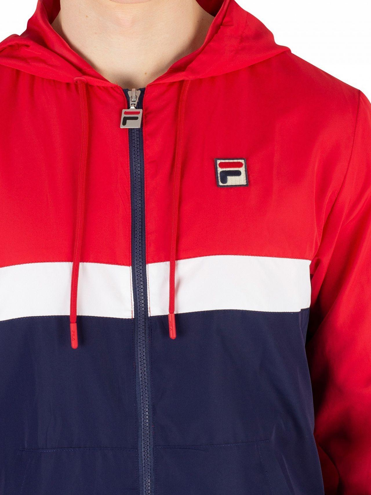 366529c8a Men's Chinese Red/peacoat/white Ambrose Color Block Jacket