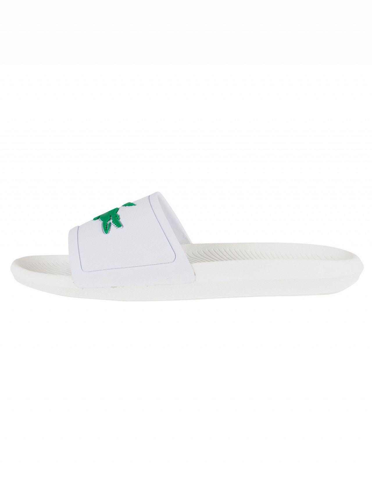 29845431b Lyst - Lacoste Fraisier Sliders White in White for Men - Save 26%