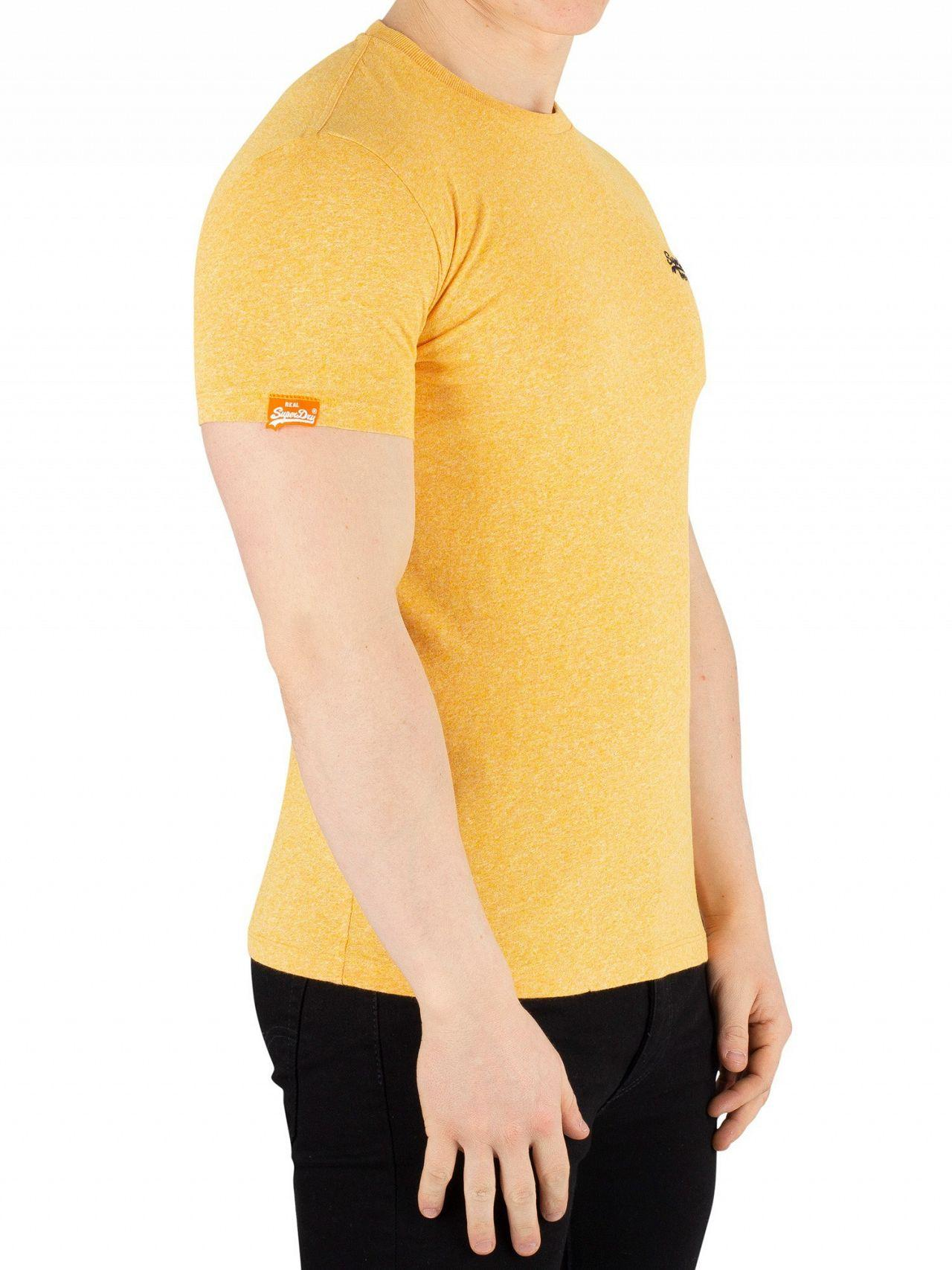 4f8b1f0d Superdry Sunshine Yellow Grit Orange Label Vintage Embroidery T-shirt in  Yellow for Men - Lyst