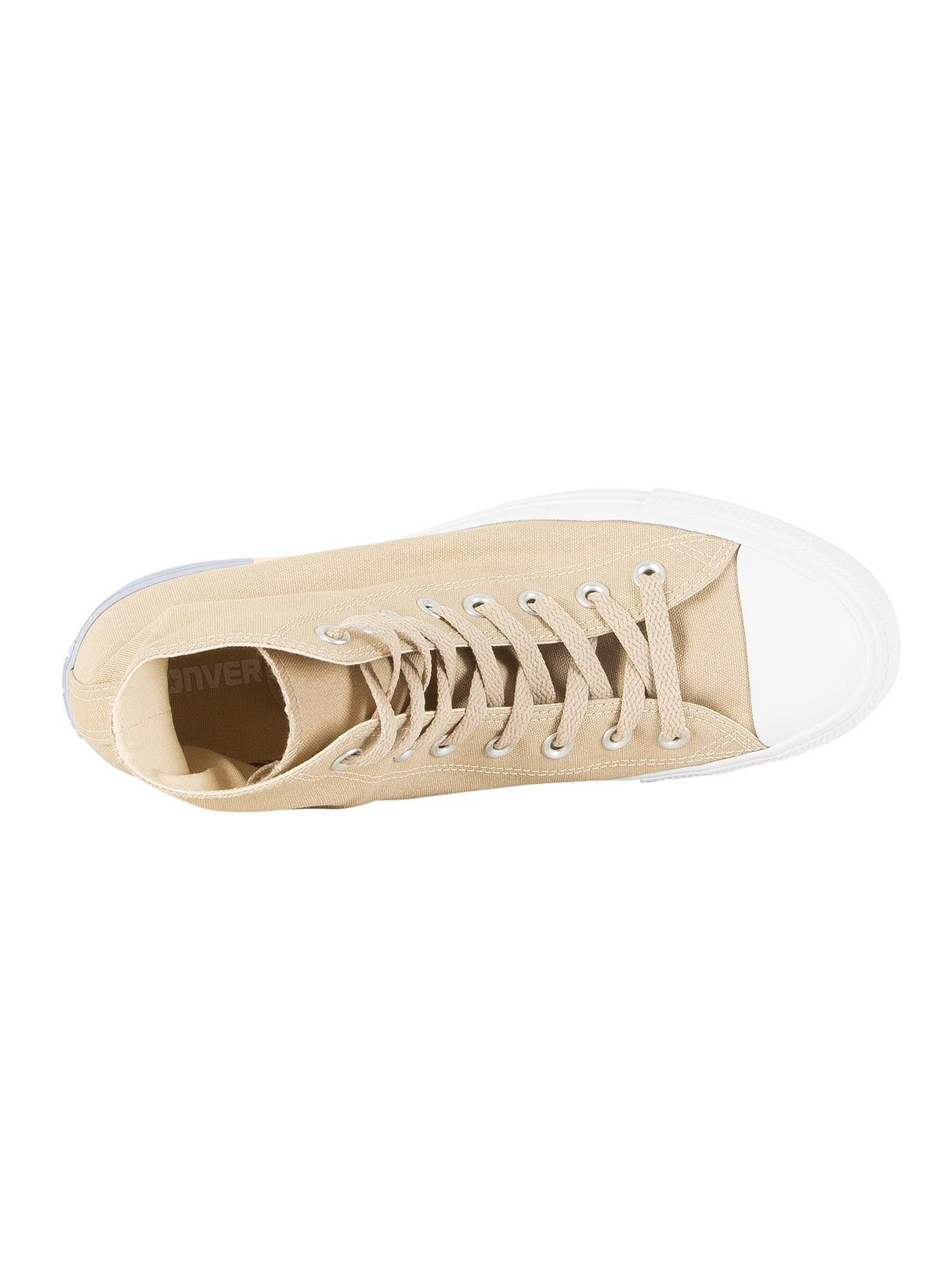 Converse Canvas Vintage Khaki/light Twine Ct All Star Hi Trainers in Natural for Men