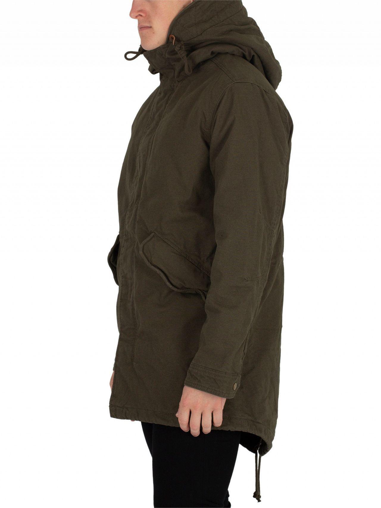 952e897d7 Jack & Jones Forest Night New Bento Parka Jacket in Green for Men - Lyst