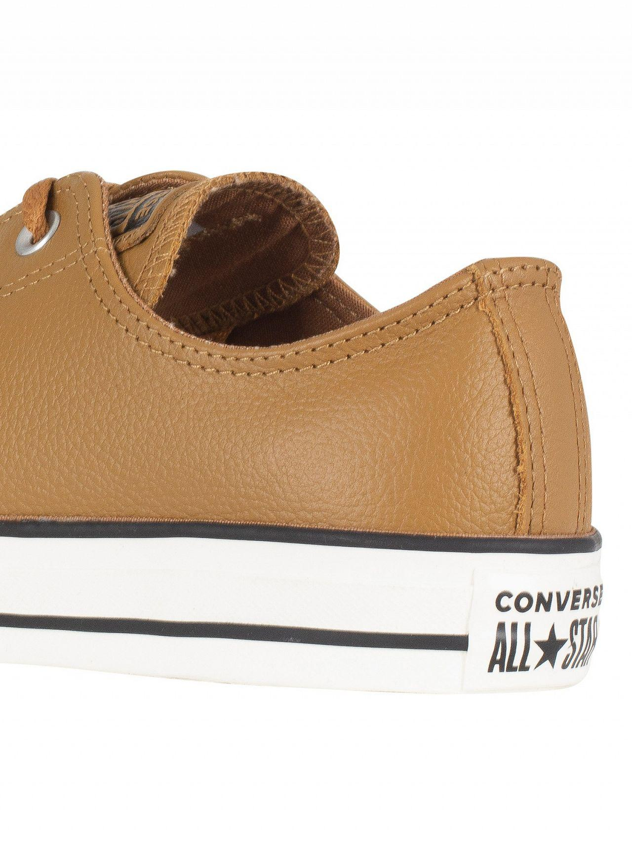 5921b32525c5 Lyst - Converse Burnt Caramel Ct All Star Ox Leather Trainers for Men
