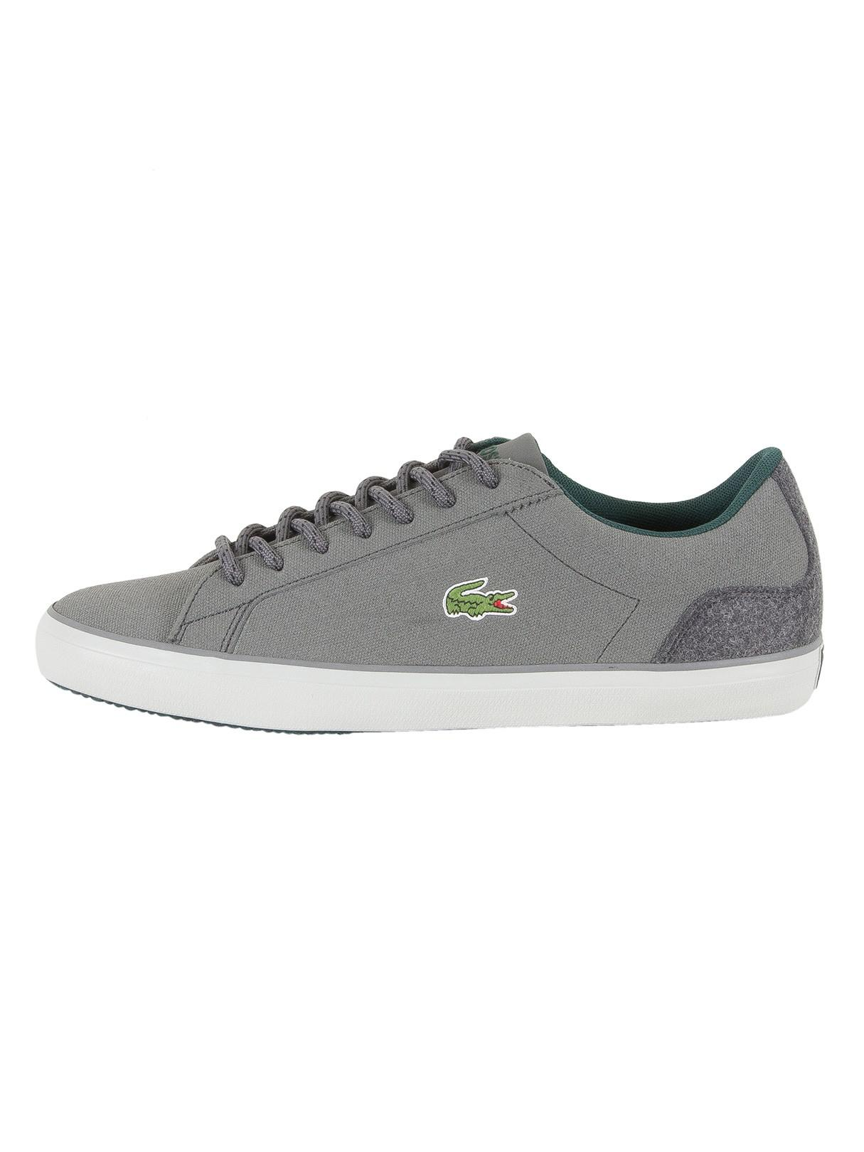 428ea218f220 Lacoste Dark Grey Lerond 417 1 Cam Trainers in Gray for Men - Lyst