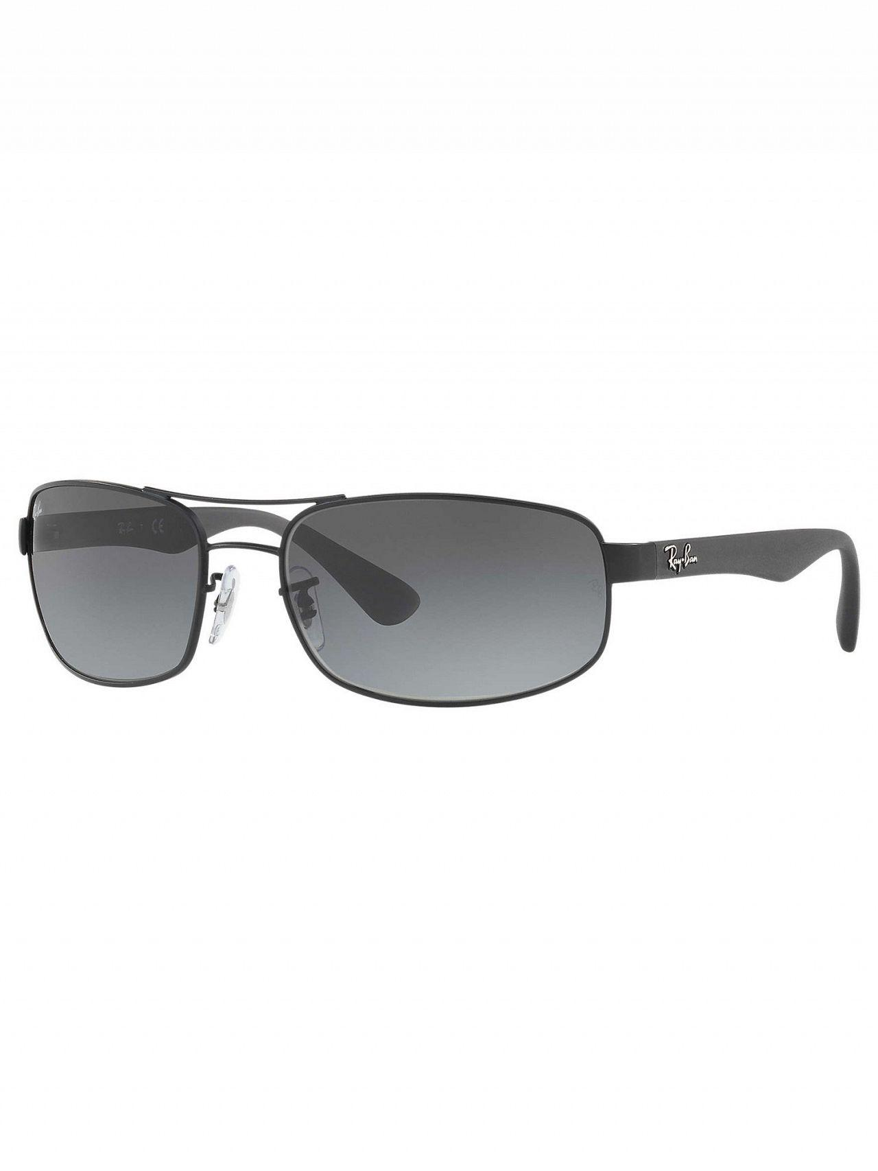 a7754c3734 Lyst - Ray-Ban Grey Gradient Orb Steel Sunglasses in Gray for Men