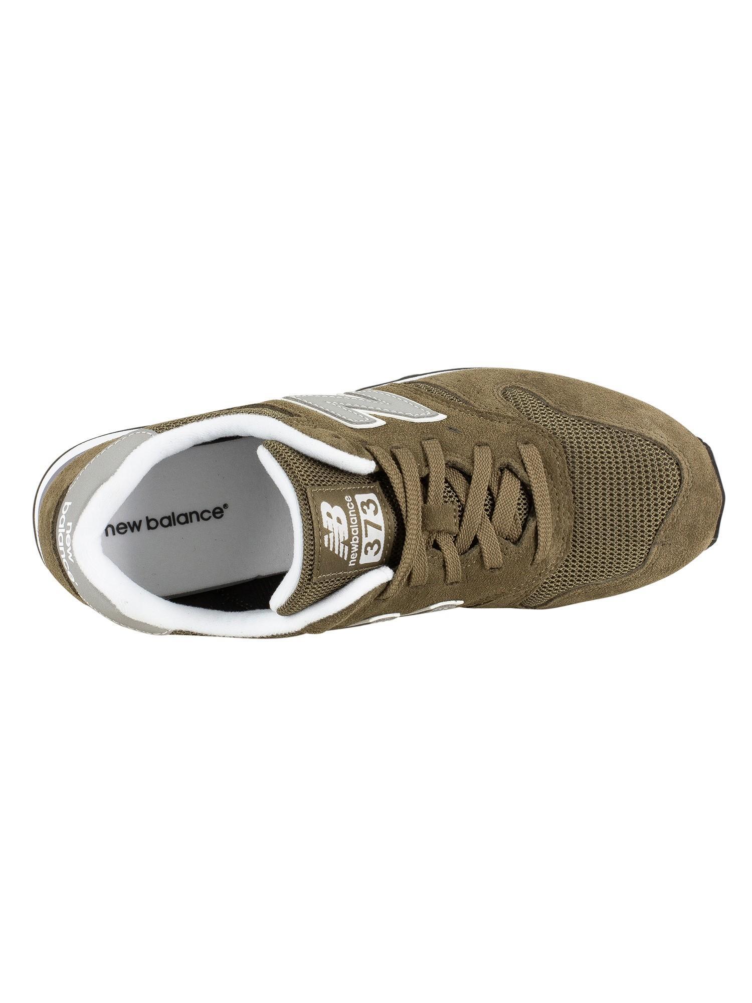new balance 373 sneaker uomo beige