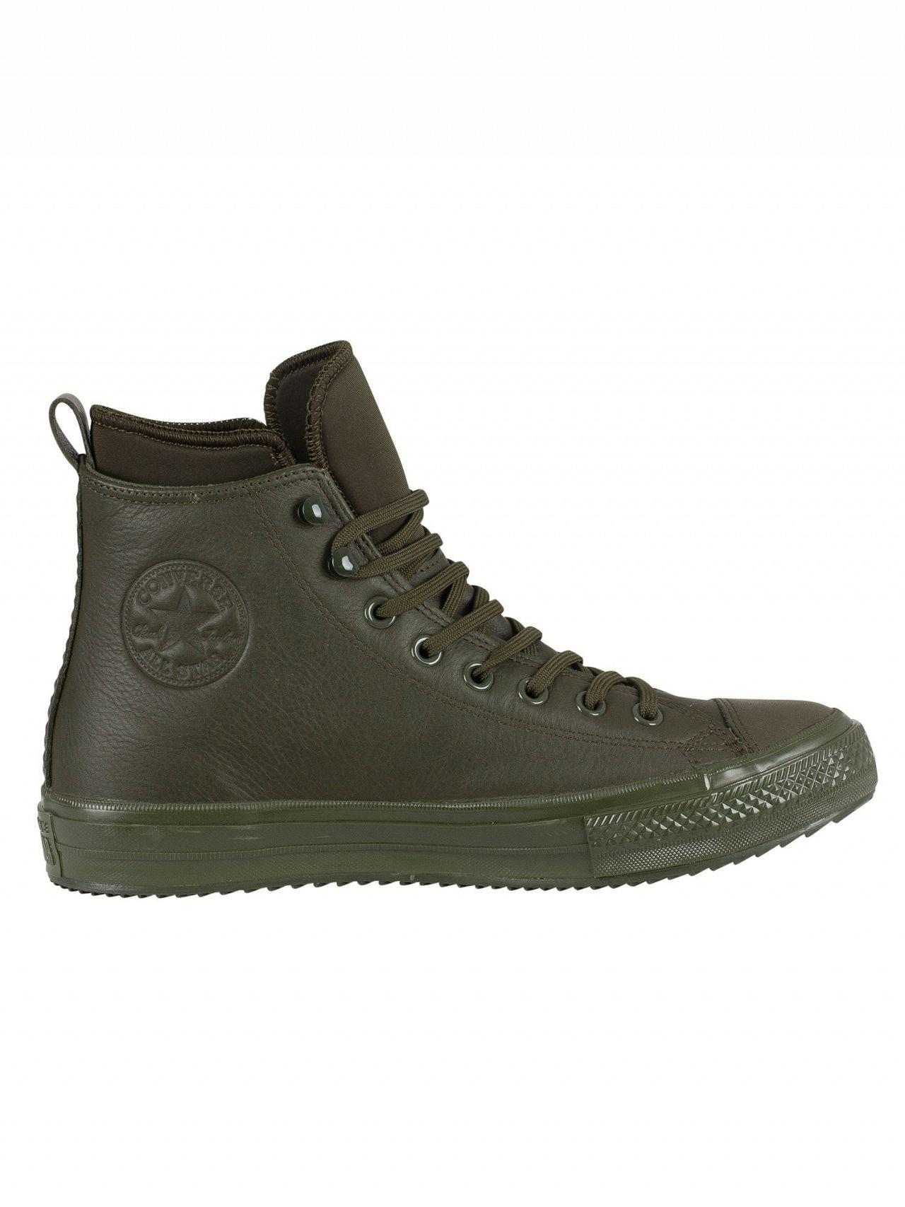 Converse Utility Green Ct All Star Hi Wp Leather Boots for