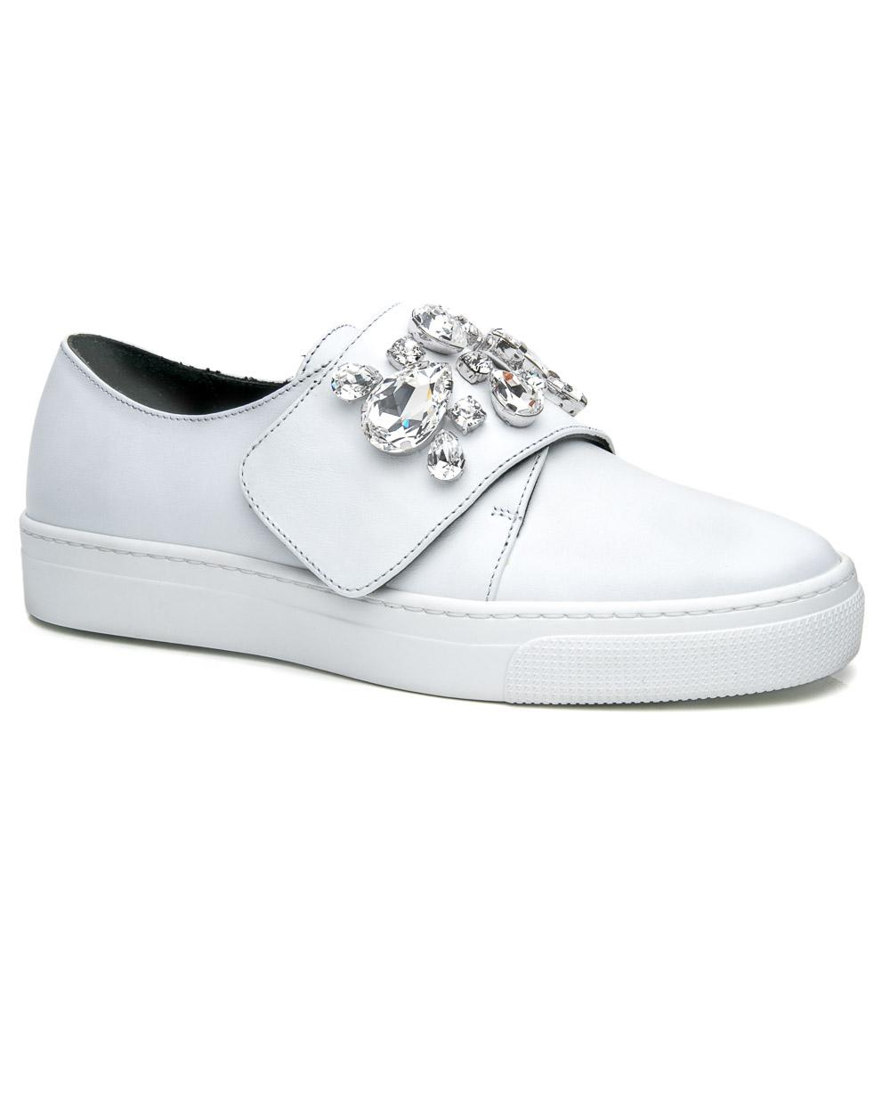 58786b7a09f Lyst - ZCD Montreal White Zenna Sneaker in White